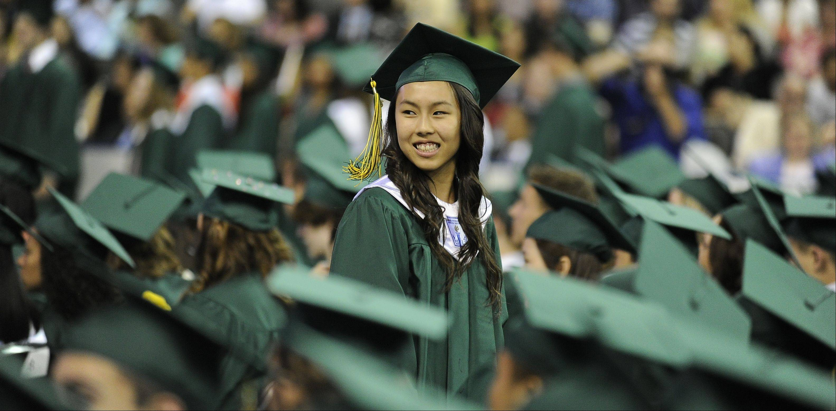 Images from the Stevenson High School graduation on Thursday, June 6 at the Sears Centre in Hoffman Estates.
