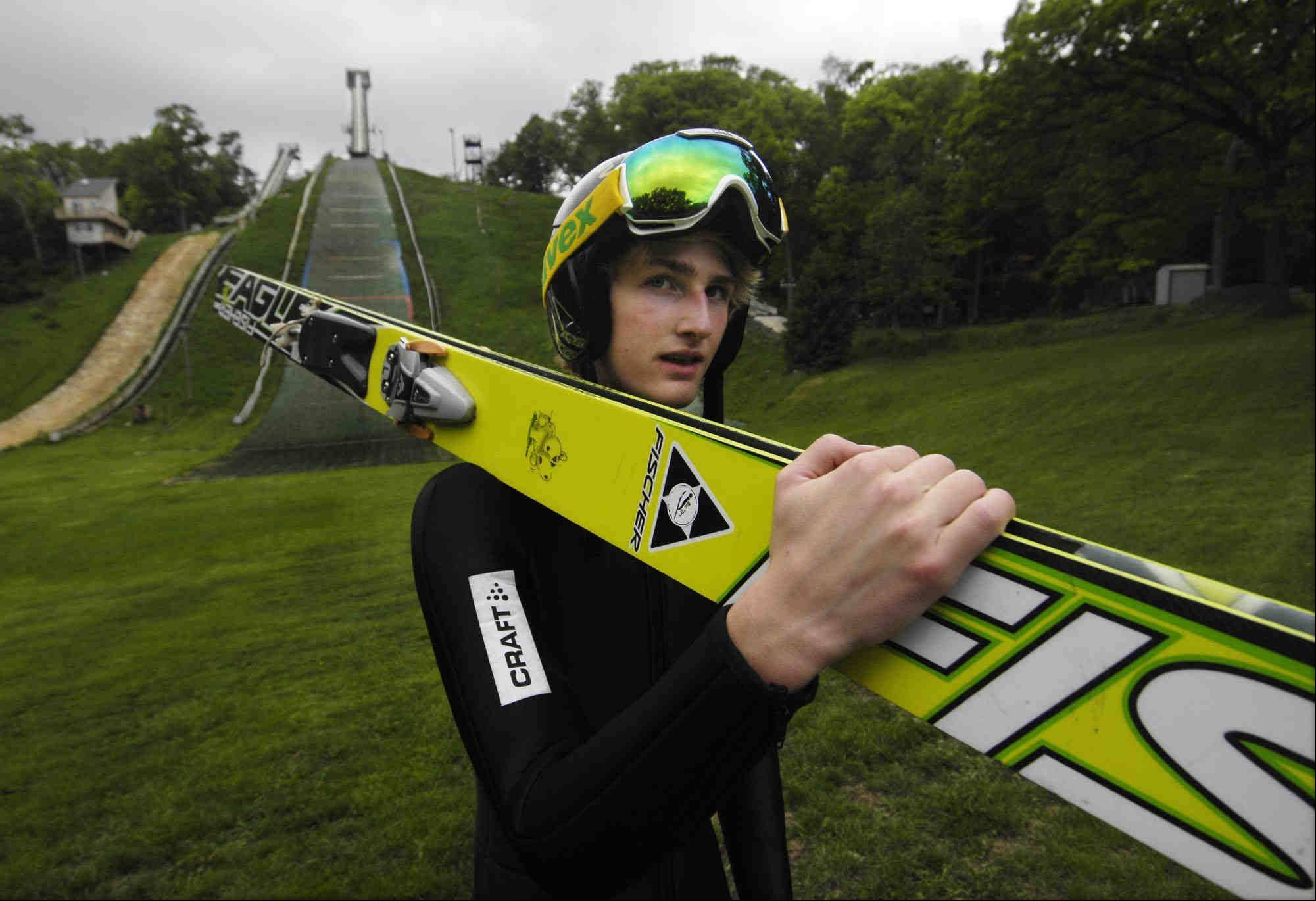 Kevin Bickner, 16, of Wauconda, has been named to the U.S. Ski Jumping National Development Team and will train in Utah. He has won the Junior National Ski Jumping Championship the last two years.