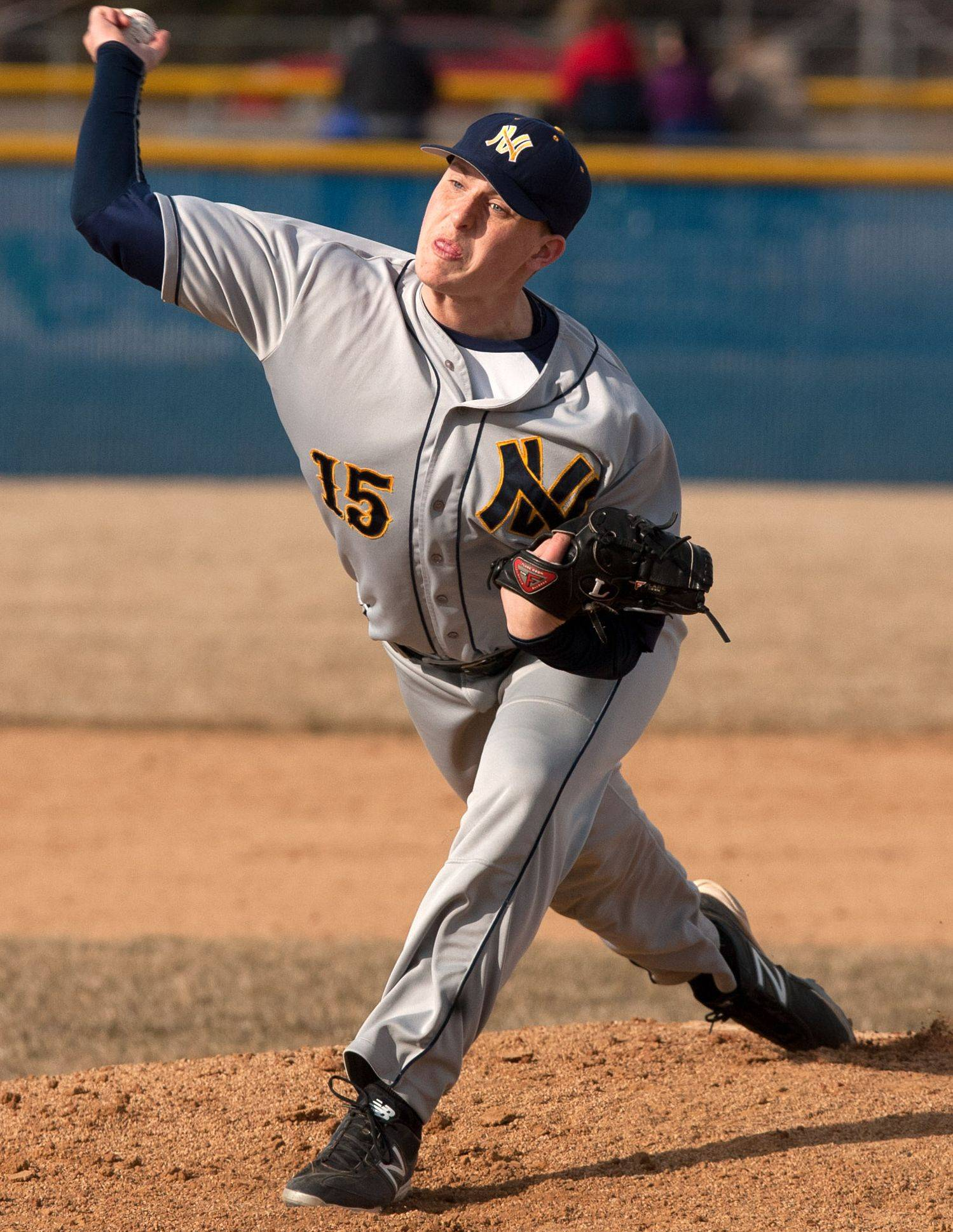 Neuqua Valley pitcher Cody Coll will take the mound at 3 p.m. today in Joliet against Mt. Carmel.