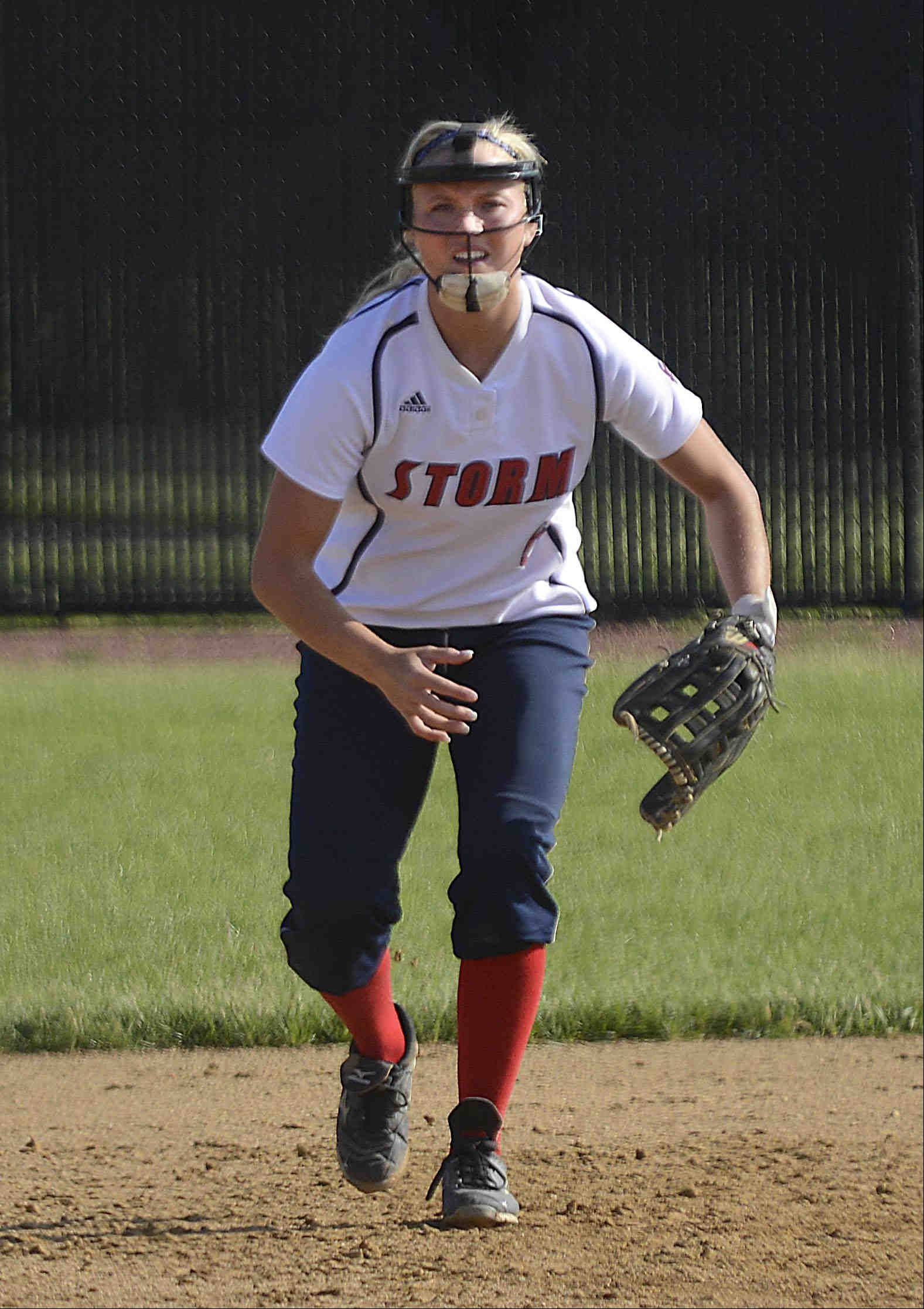 South Elgin senior Kara Rodriguez is the Daily Herald's Female Athlete of the Year for the Fox Valley. A three-sport athlete, she will be a cheerleader at Division I North Texas.