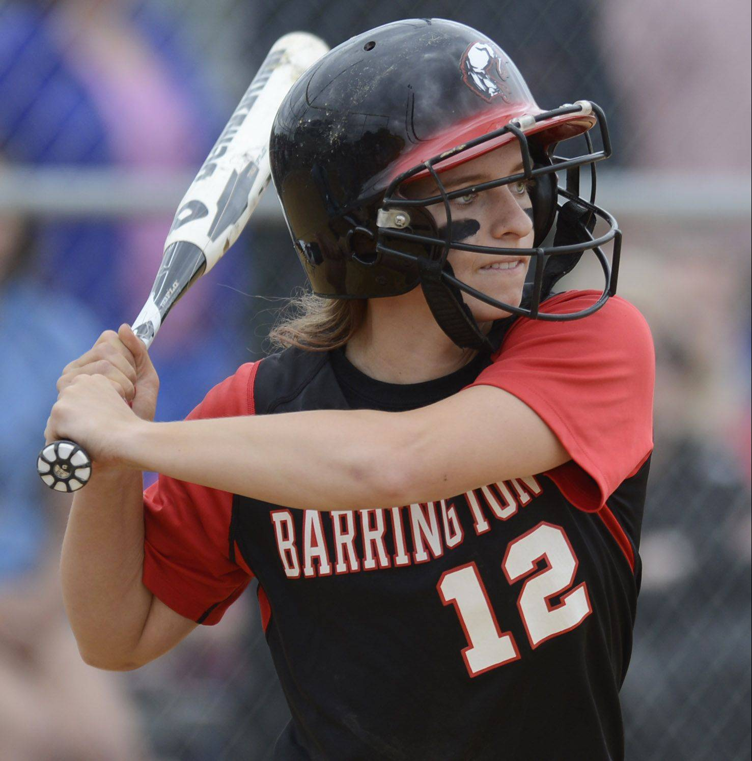 Barrington's Loren Krzysko is the most prolific power hitter in the history of the Mid-Suburban League. She has 42 career homers -- and counting -- as the Fillies enter Friday's Class 4A state semifinal game against St. Charles East.
