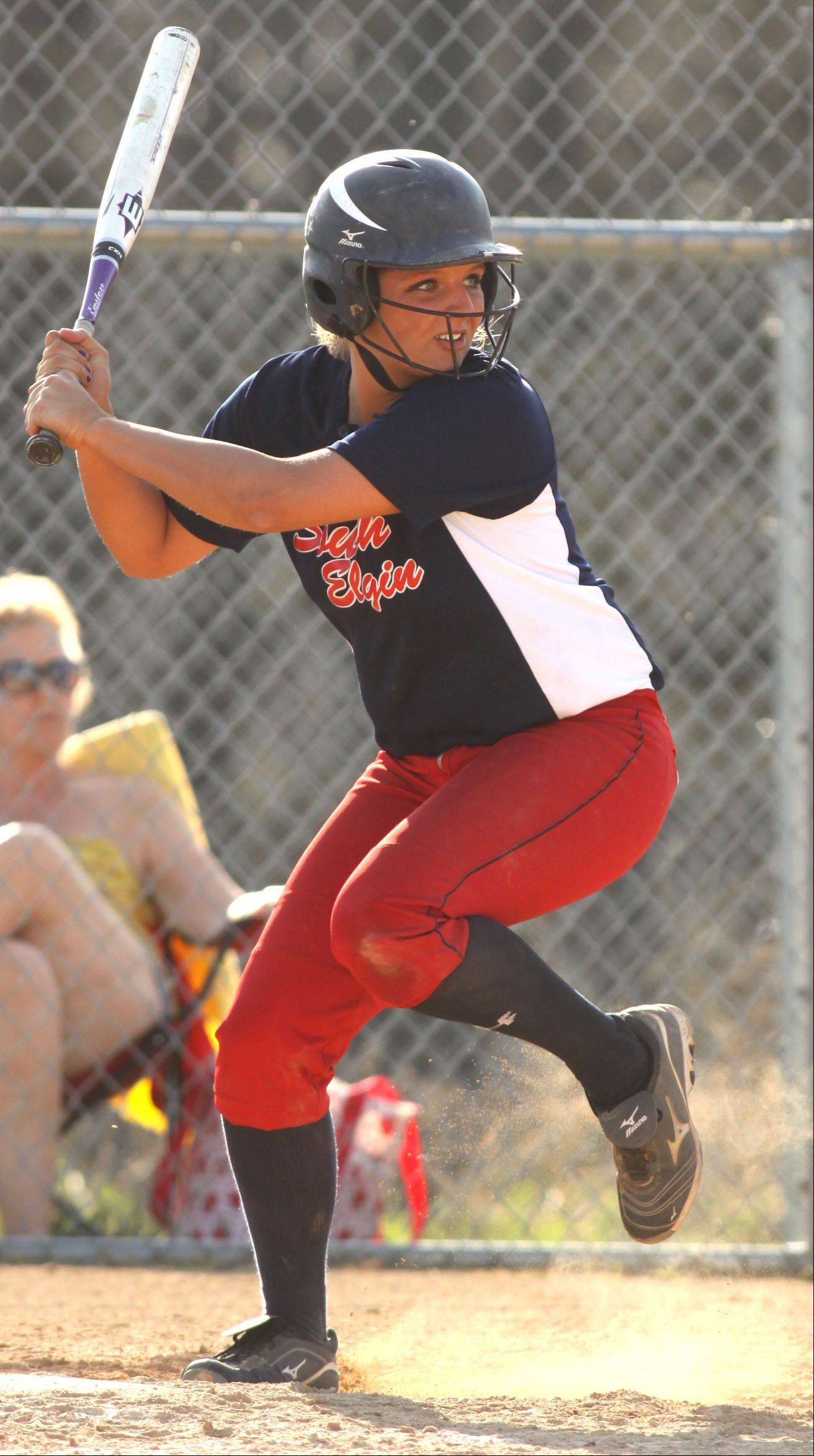South Elgin's Alyssa Buddle.