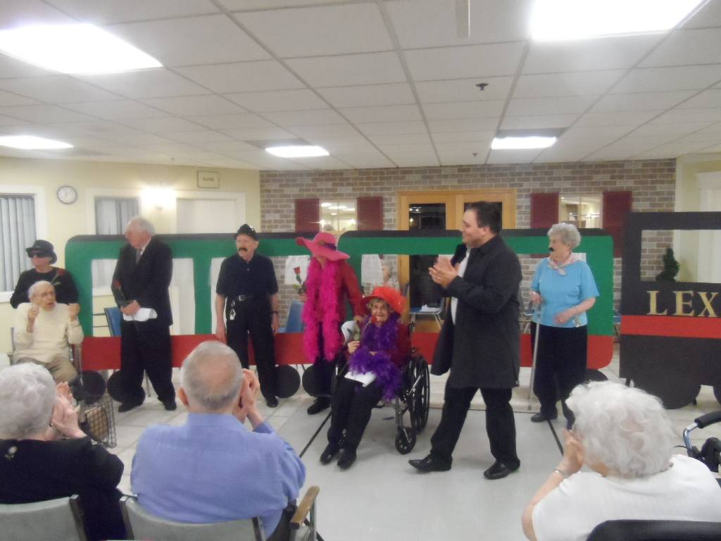 Lexington Square residents perform.