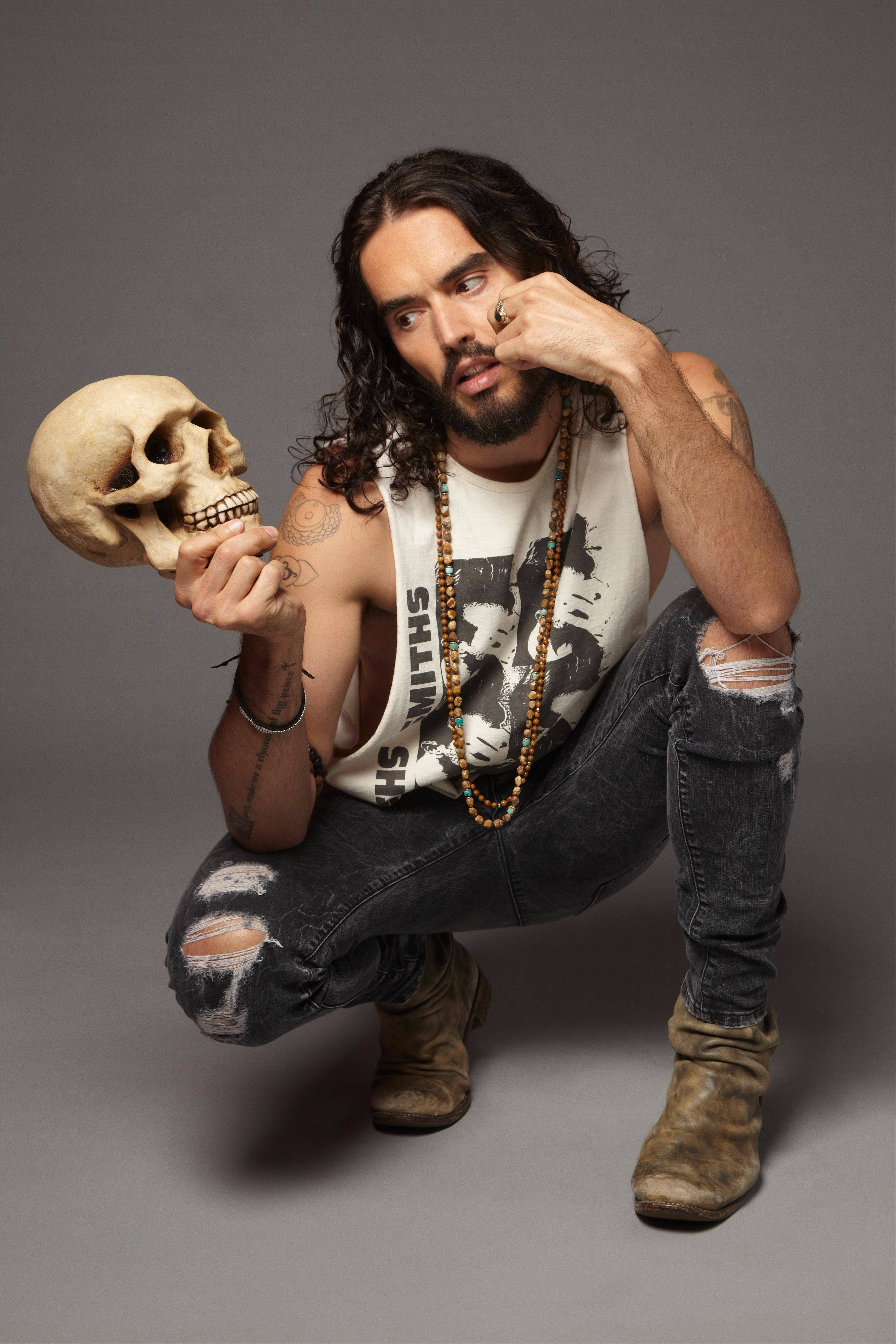 Russell Brand is one of the big names headed to town for the TBS Just for Laughs Chicago. He will be at the Chicago Theatre June 12.