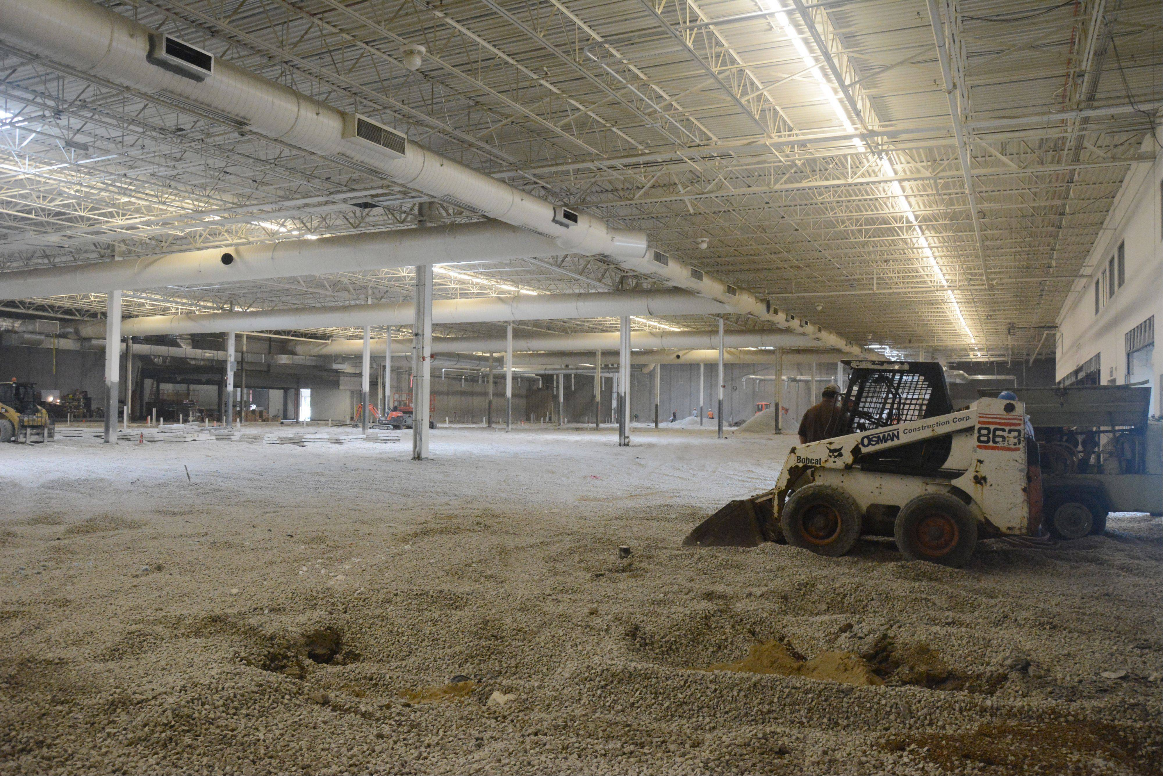 The inside of Ultra Foods will be 87,000 square feet.