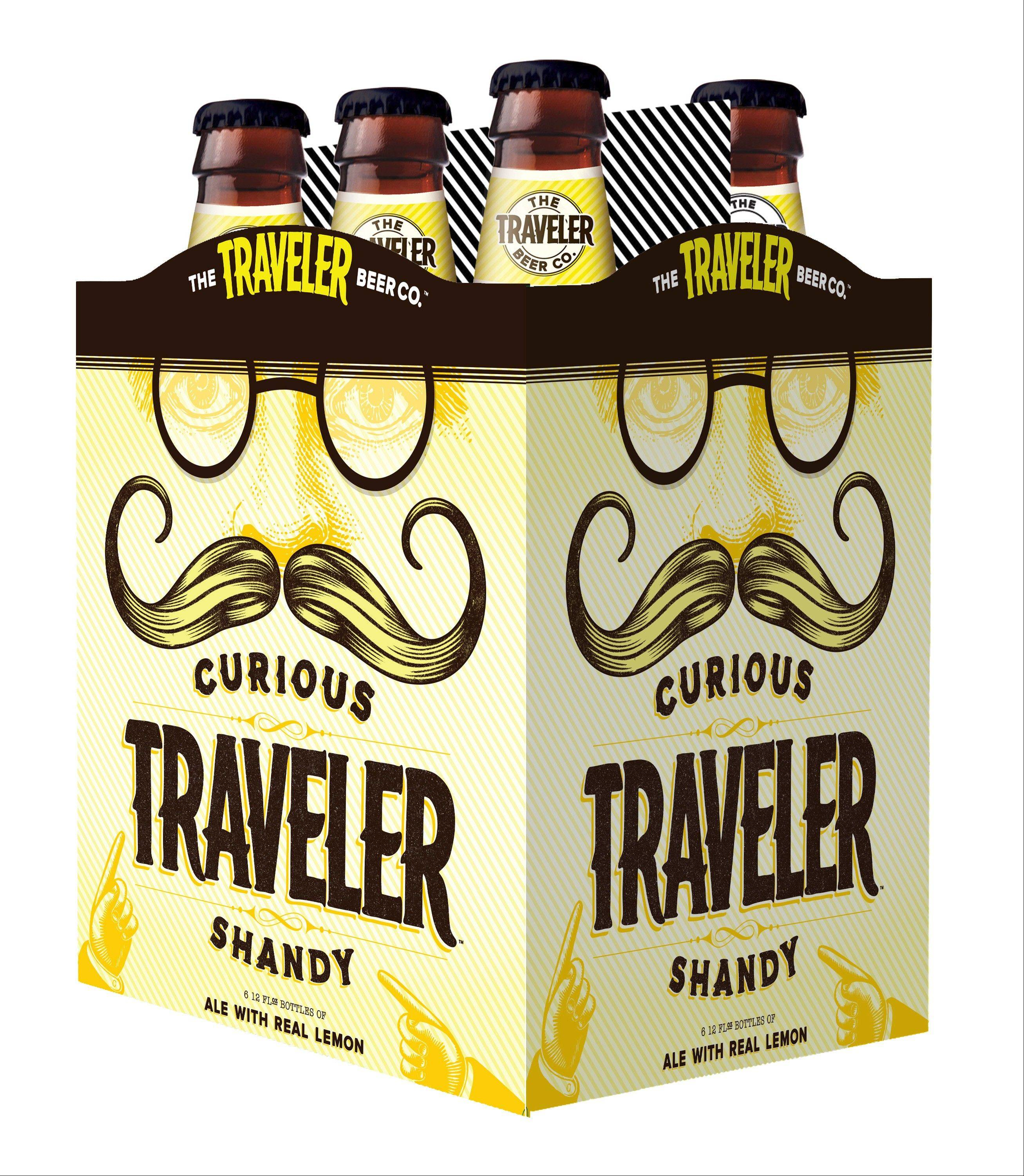 Curious Traveler is one of many shandies building a popular market among beer drinkers.