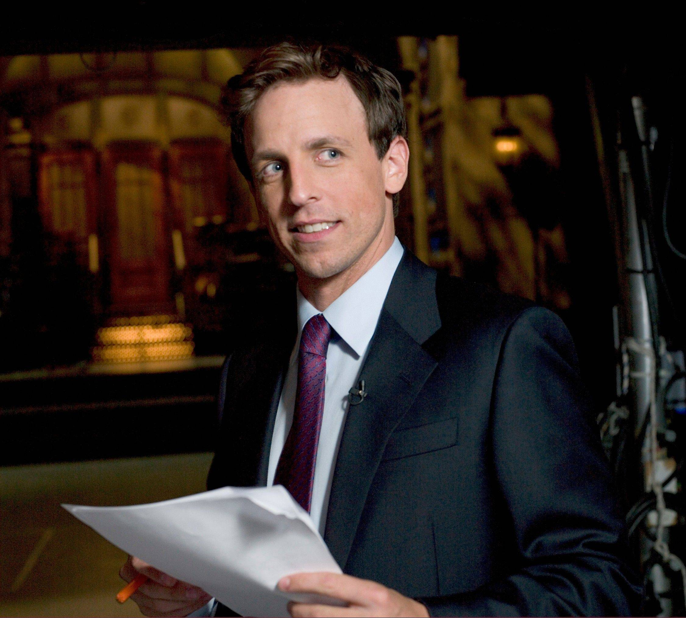 Seth Meyers appears June 14 at the Chicago Theatre.