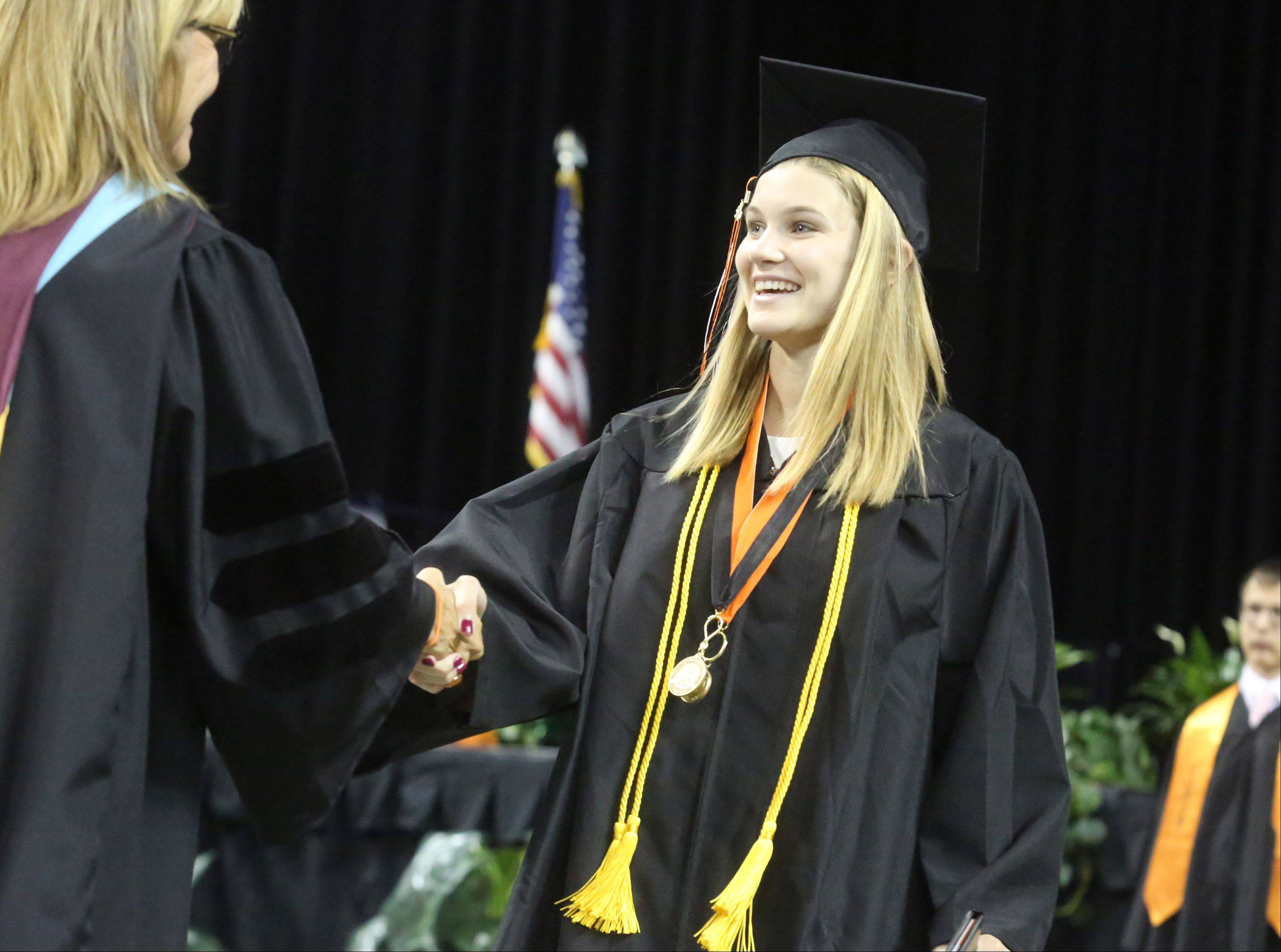 Images from the Libertyville High School graduation on Friday, June 7 at the Sears Centre in Hoffman Estates.