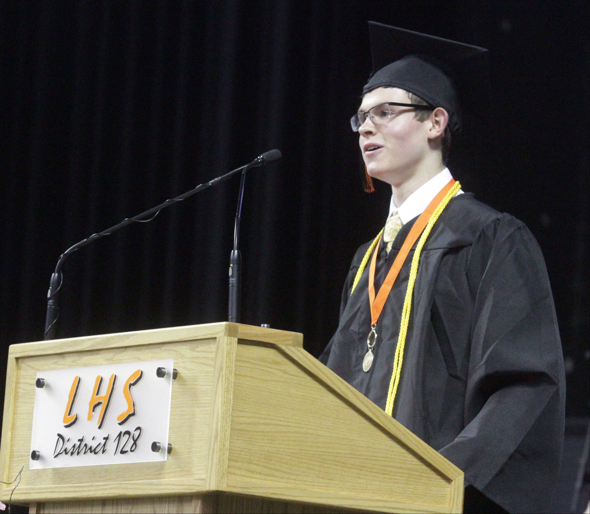Libertyville High School graduation on Friday, June 7 at the Sears Centre in Hoffman Estates.