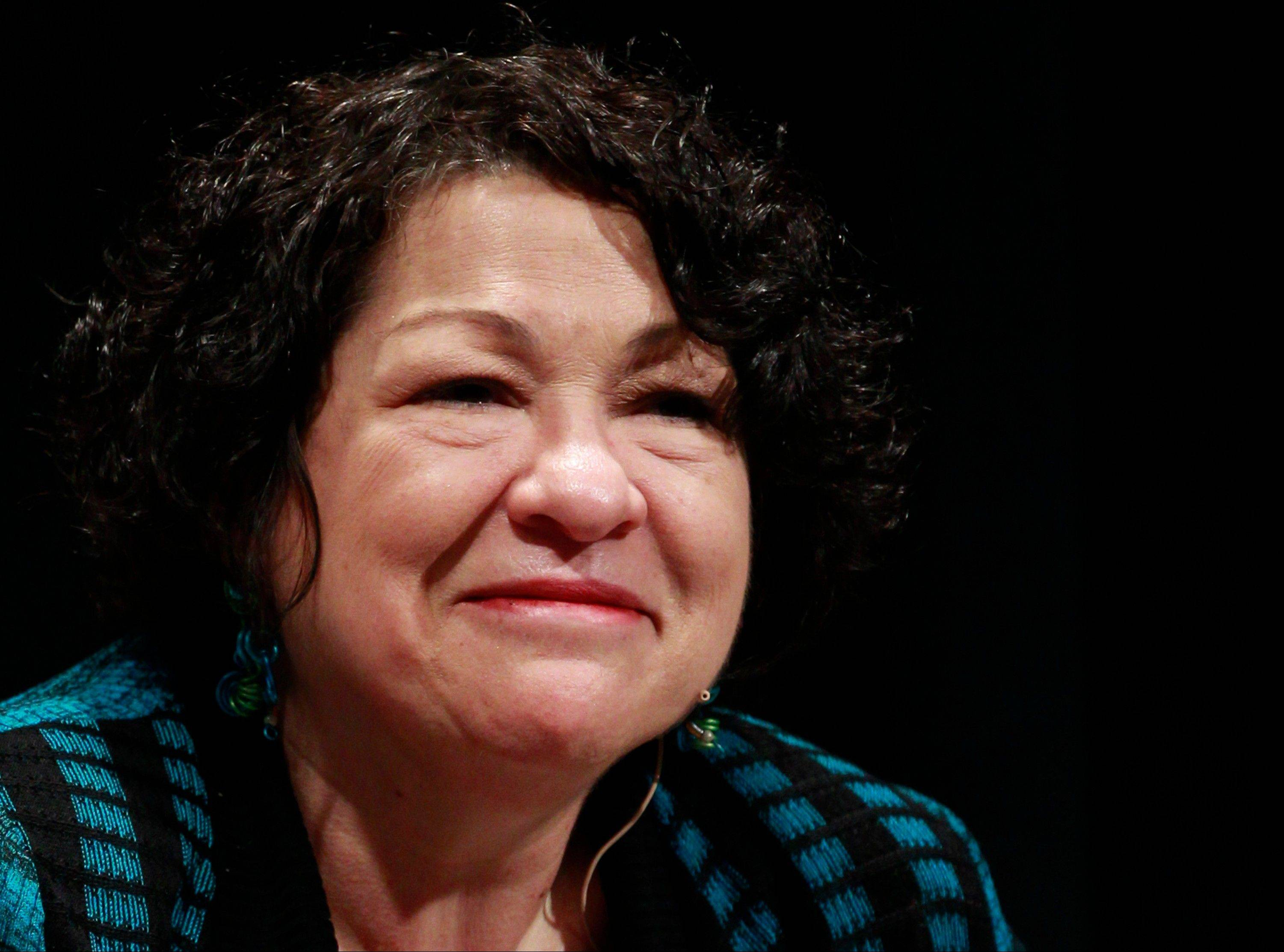 Associated Press/May 2, 2013 Supreme Court Justice Sonia Sotomayor in Denver.