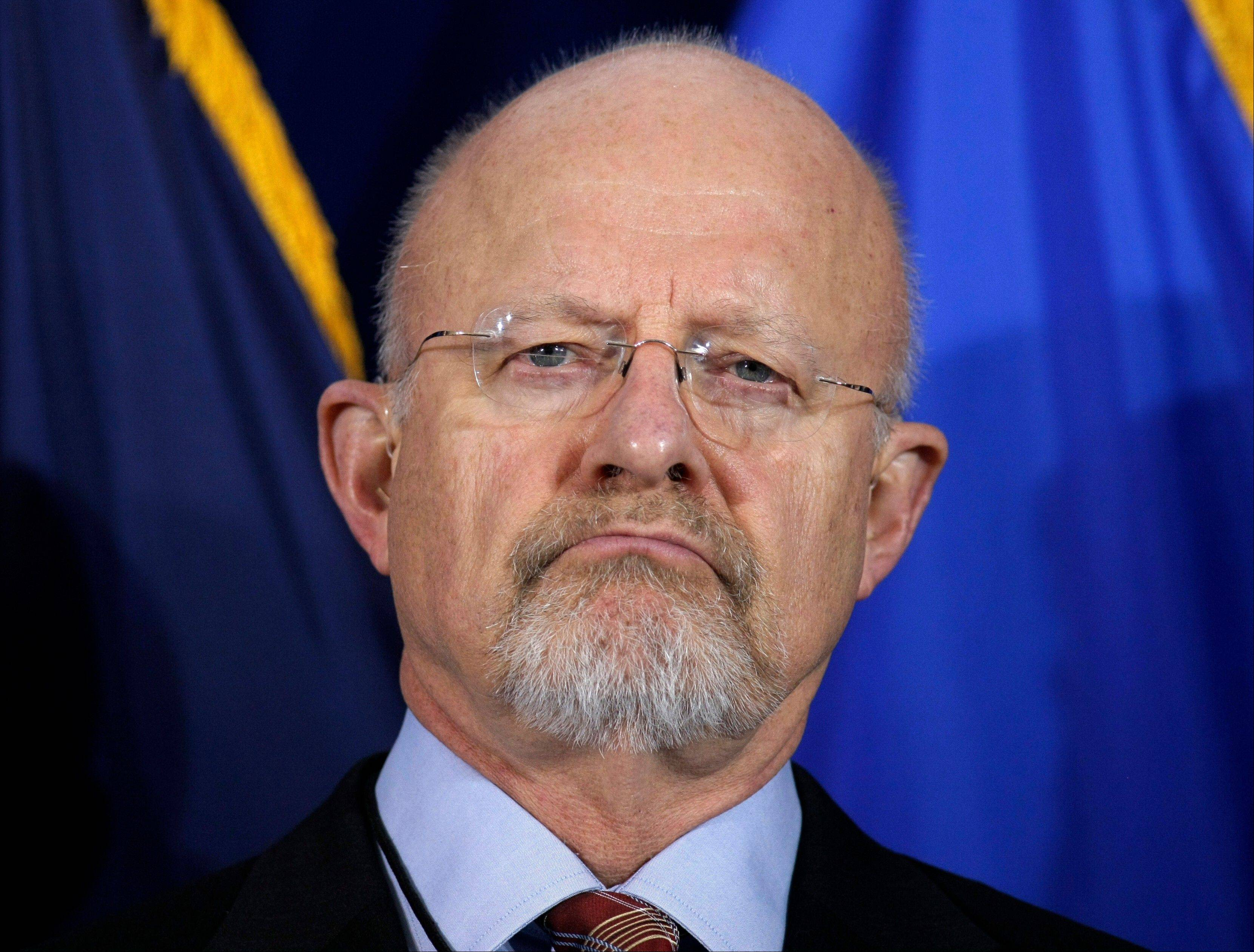 "Director of National Intelligence James Clapper called the disclosure of an Internet surveillance program ""reprehensible"" Thursday and said it risks Americans' security."