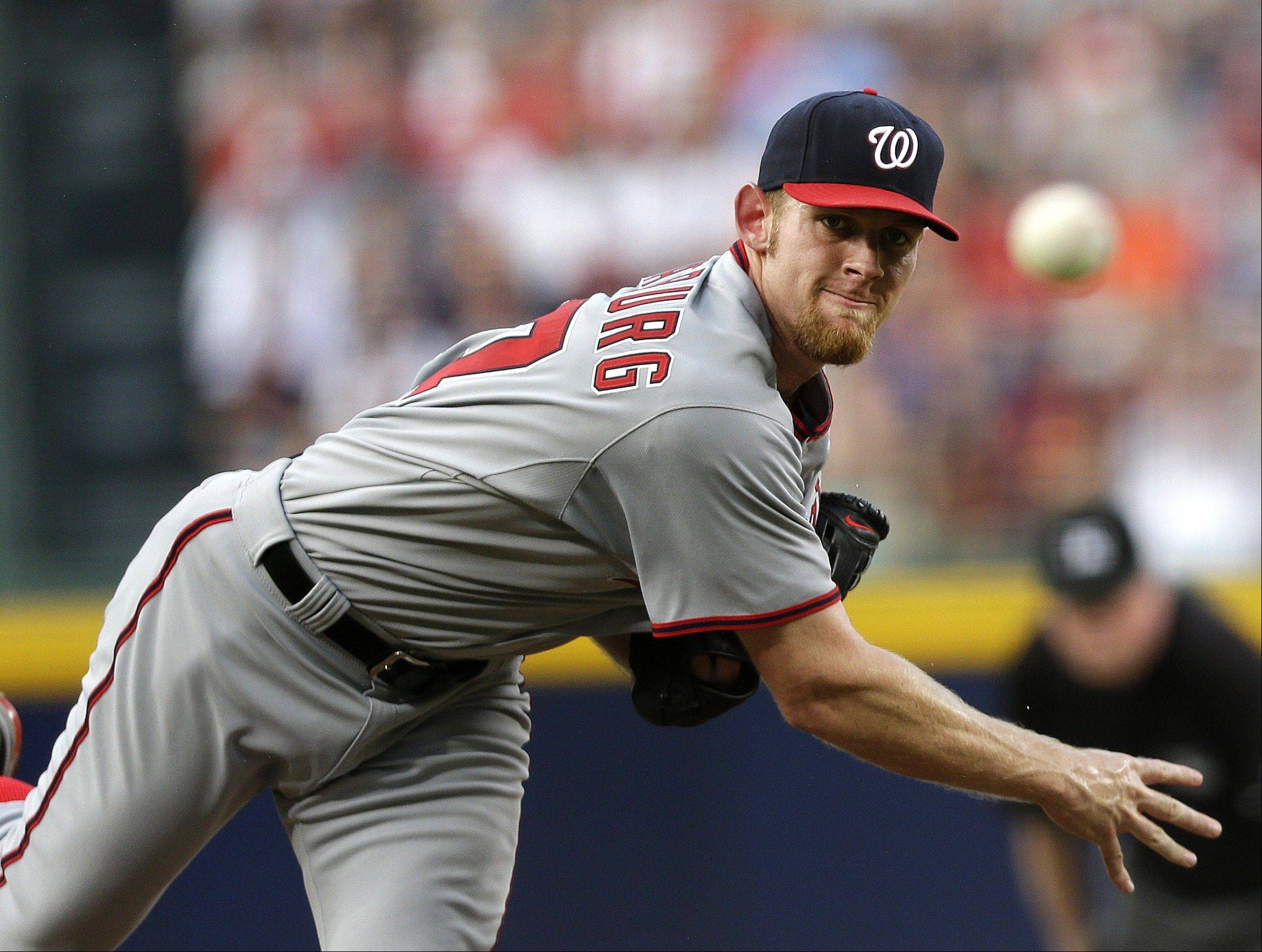 Washington Nationals starting pitcher Stephen Strasburg, who was limited to 160 innings last season to protect his arm, was placed on the 15-day disabled list this week.