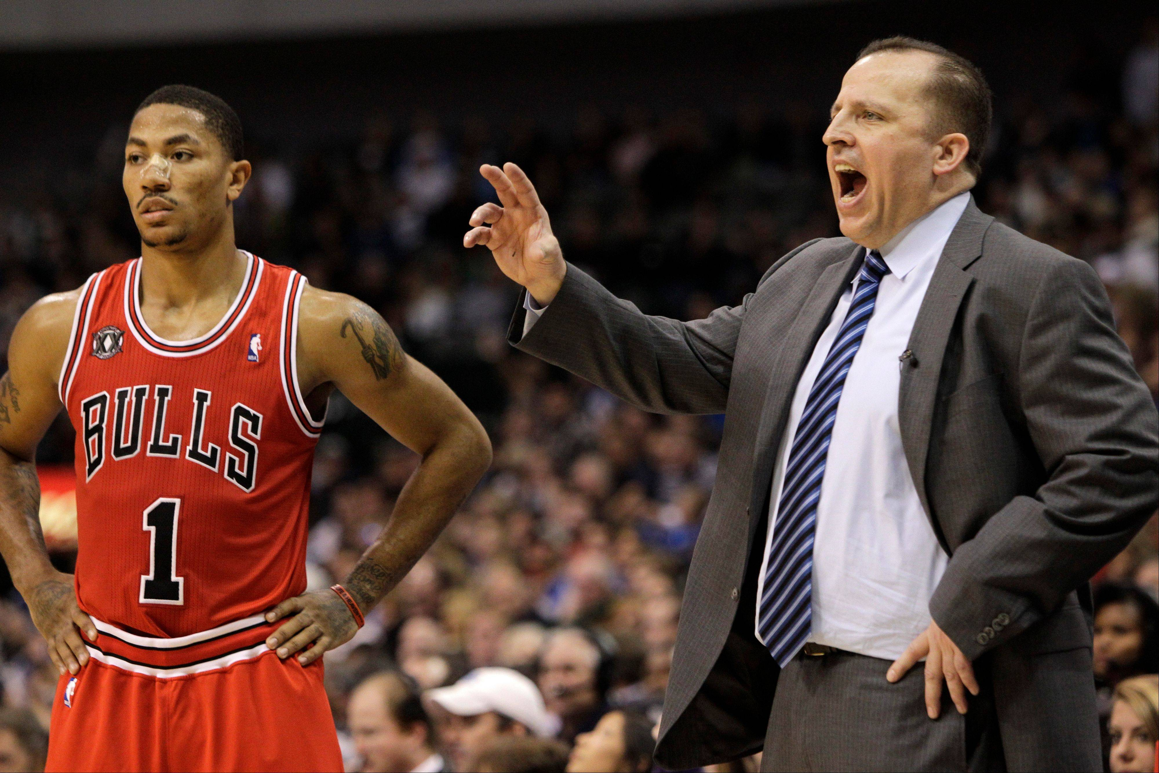 When coach Tom Thibodeau and Derrick Rose are reunited on the court this season, the Bulls� dynamic will change, according to Mike McGraw.