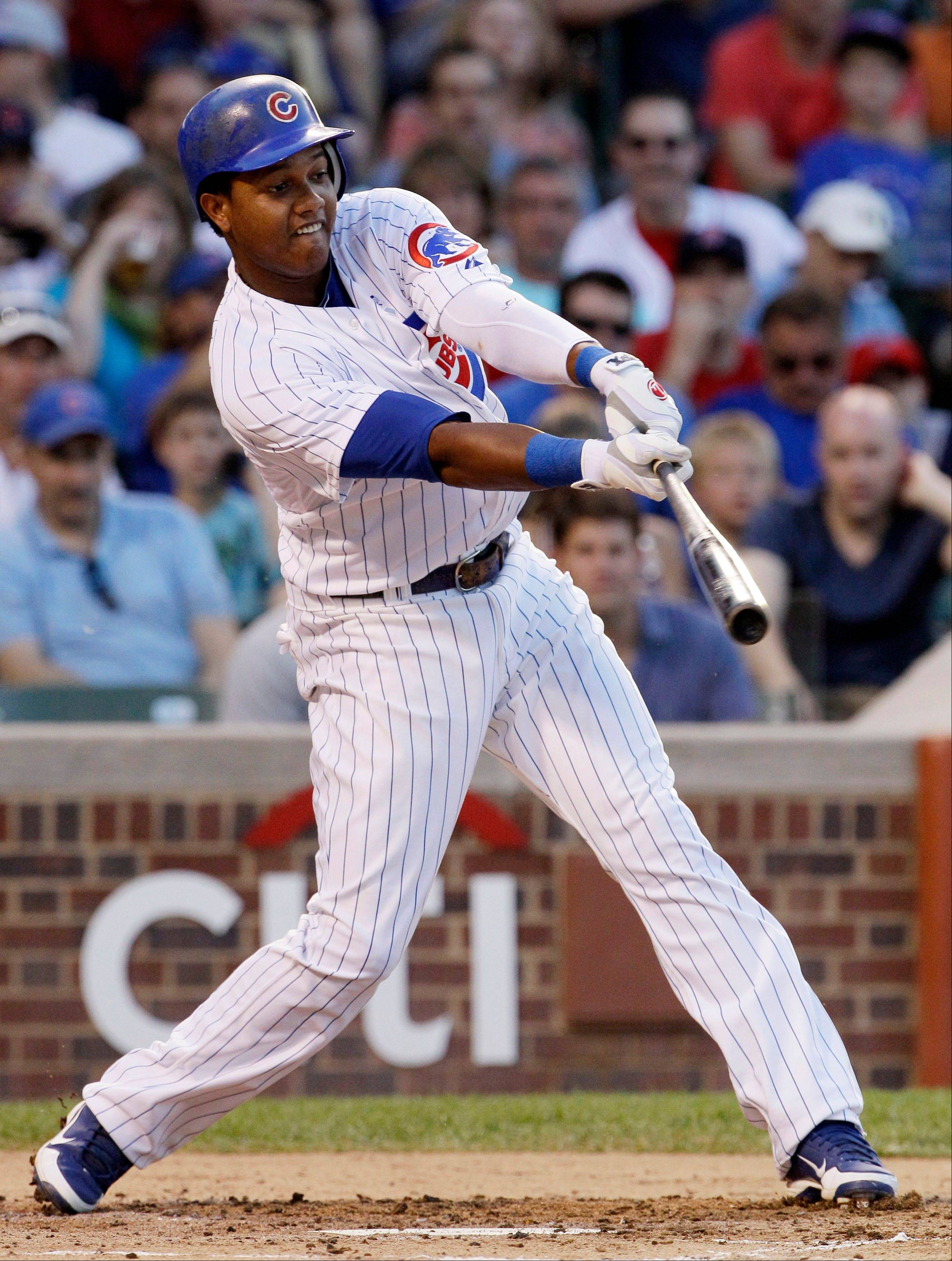 Cubs manager Dale Sveum had this to say about slumping Starlin Castro: �He�s a cut-and-slasher who�s going to swing the bat. I�d like to see him back to where he was in 2010 and 2011 when there was a lot less movement going on. He thinks they�re the same mechanics, but they�re not the same mechanics as what he came up in the big leagues and in 2011.�