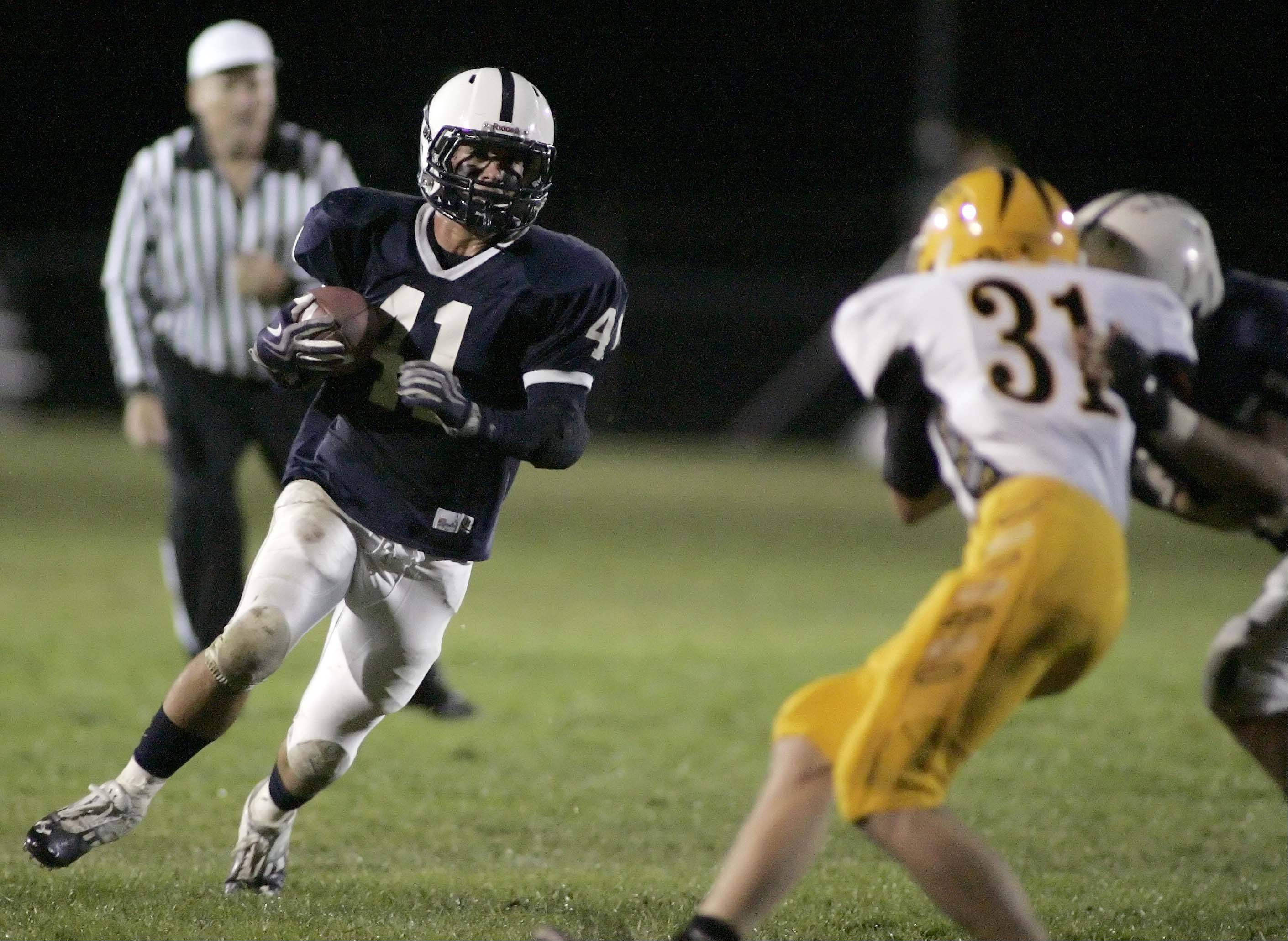 Cary-Grove�s Zach Marszal (41) is the 2012-13 male athlete of the year in the Fox Valley.