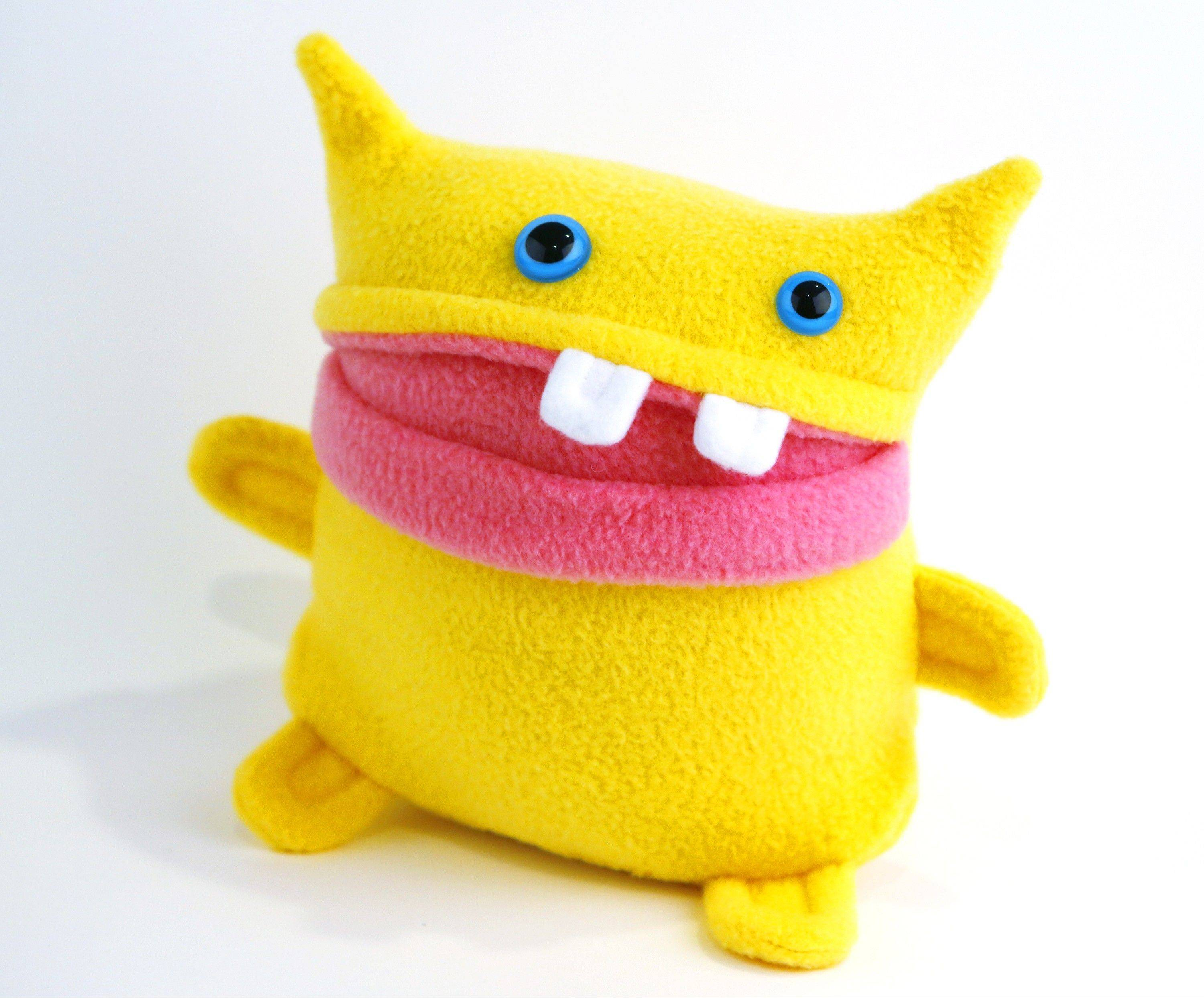 A monster doll called Sunny is made by the Monster to Love company started by the Tollison family in Fort Collins, Colo.