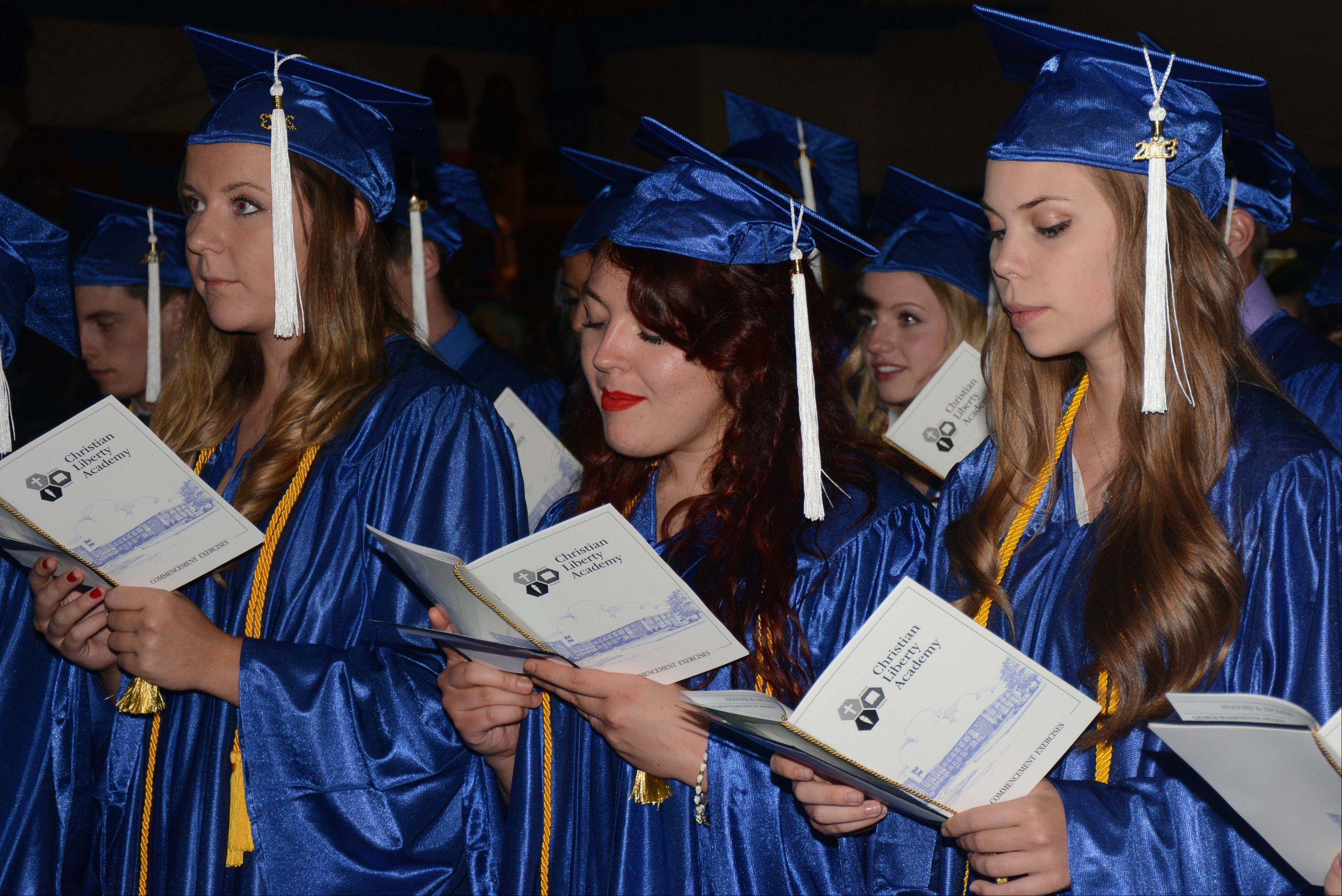 Images from the Christian Liberty Academy graduation on Sunday, June 9, in Arlington Heights.