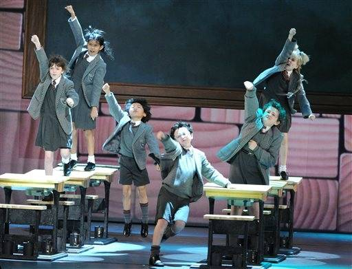 "The cast of ""Matilda"" performs."