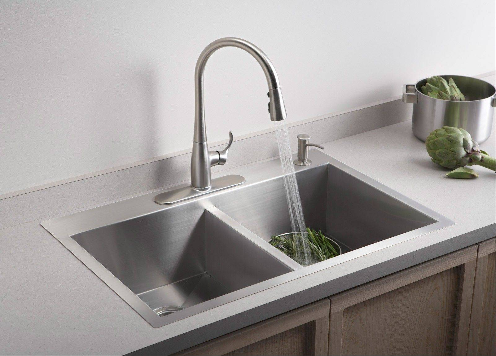 A Built In Soap Dispenser Can Be A Nice Addition To Any Kitchen Sink