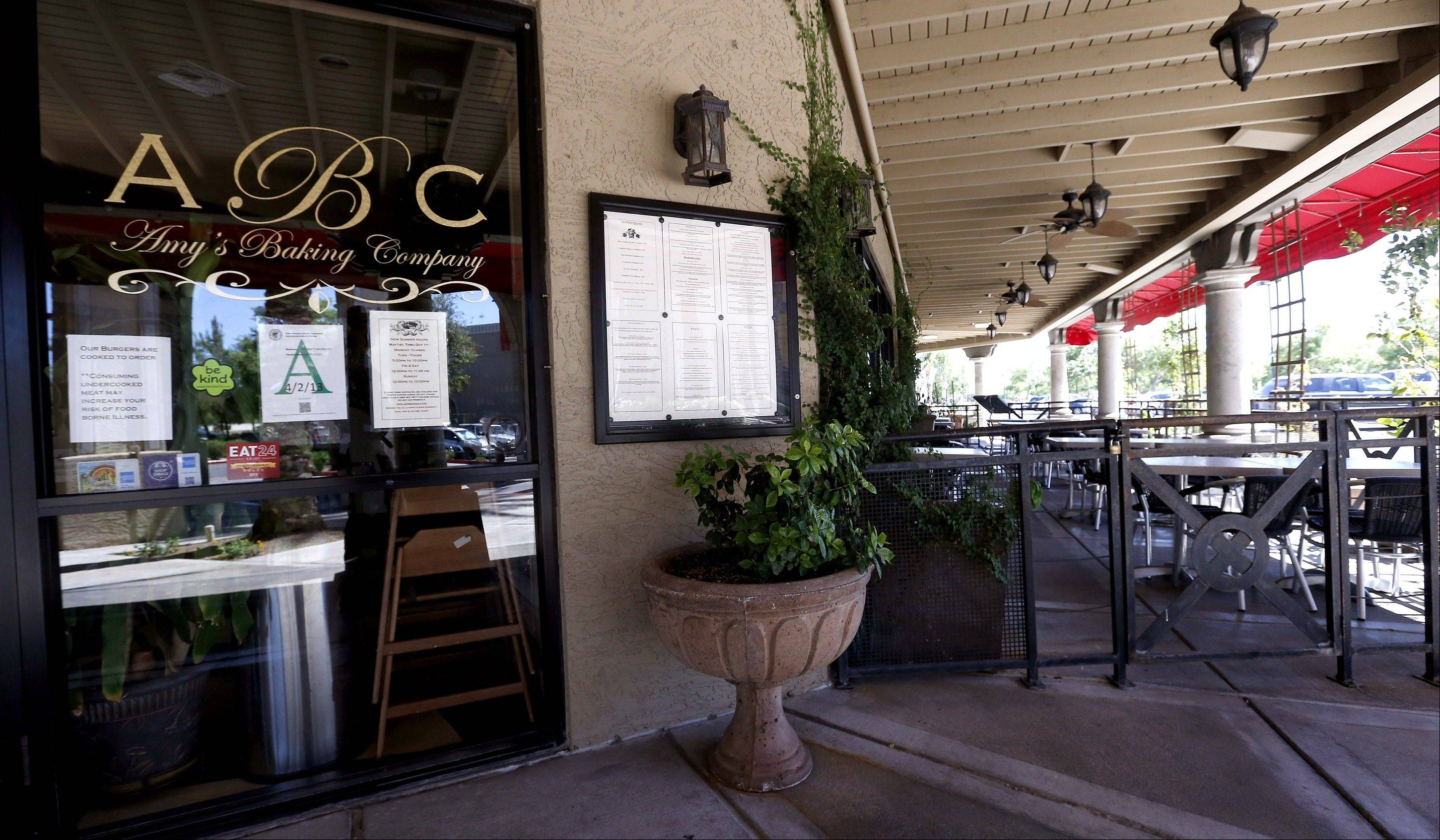 "Amy's Baking Company in Scottsdale, Ariz., temporarily closed after the ""Kitchen Nightmares"" episode aired. The episode drew more than a million viewers on YouTube, and restaurateur Amy Bouzaglo's vitriolic rants became popular fodder on Twitter and Facebook."