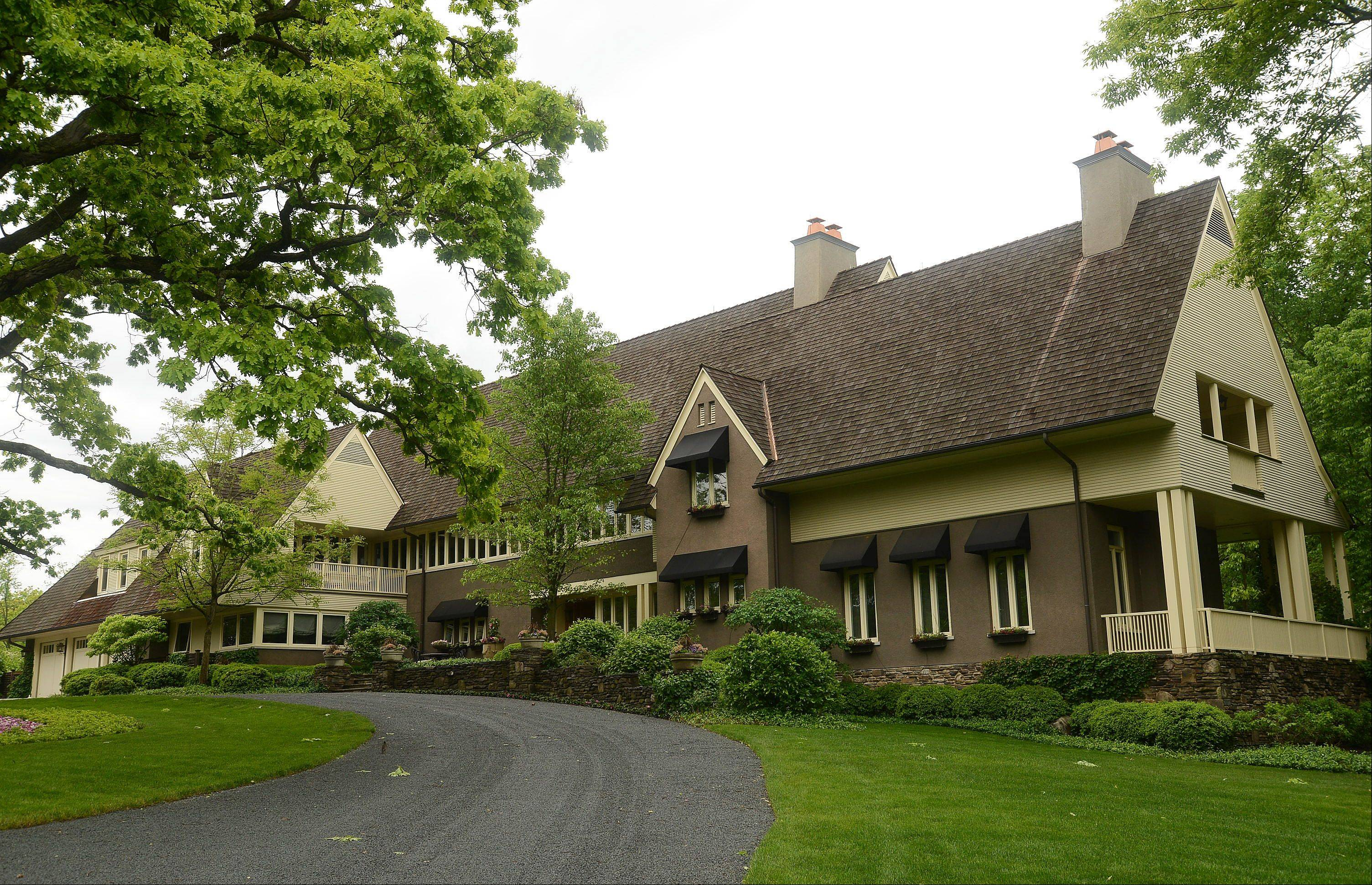 The Barrington Hills home was built in 2004.