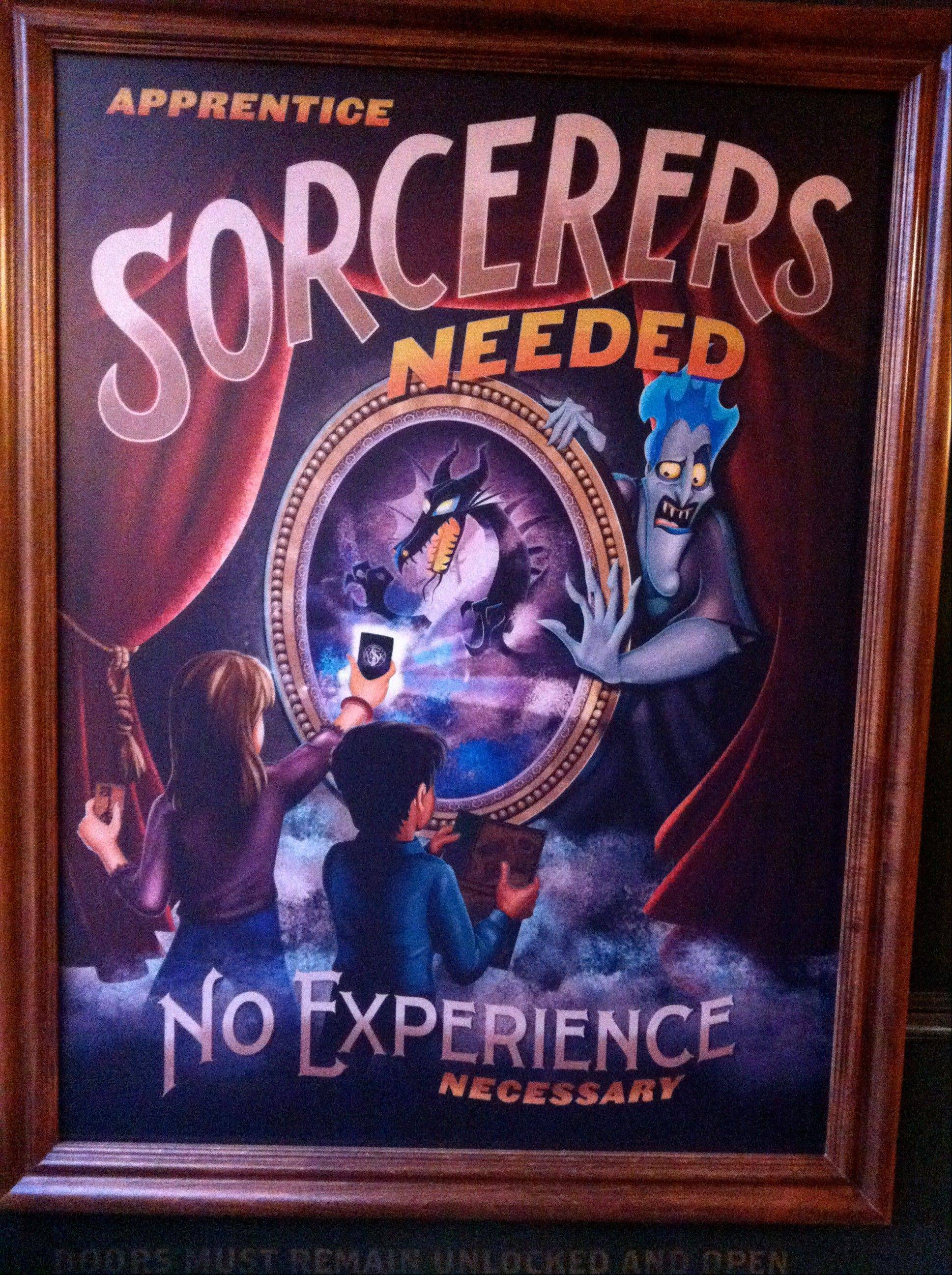 "The ""Sorcerers of the Magic Kingdom"" game at the Magic Kingdom theme park invites to have a more interactive experience than just riding rides."