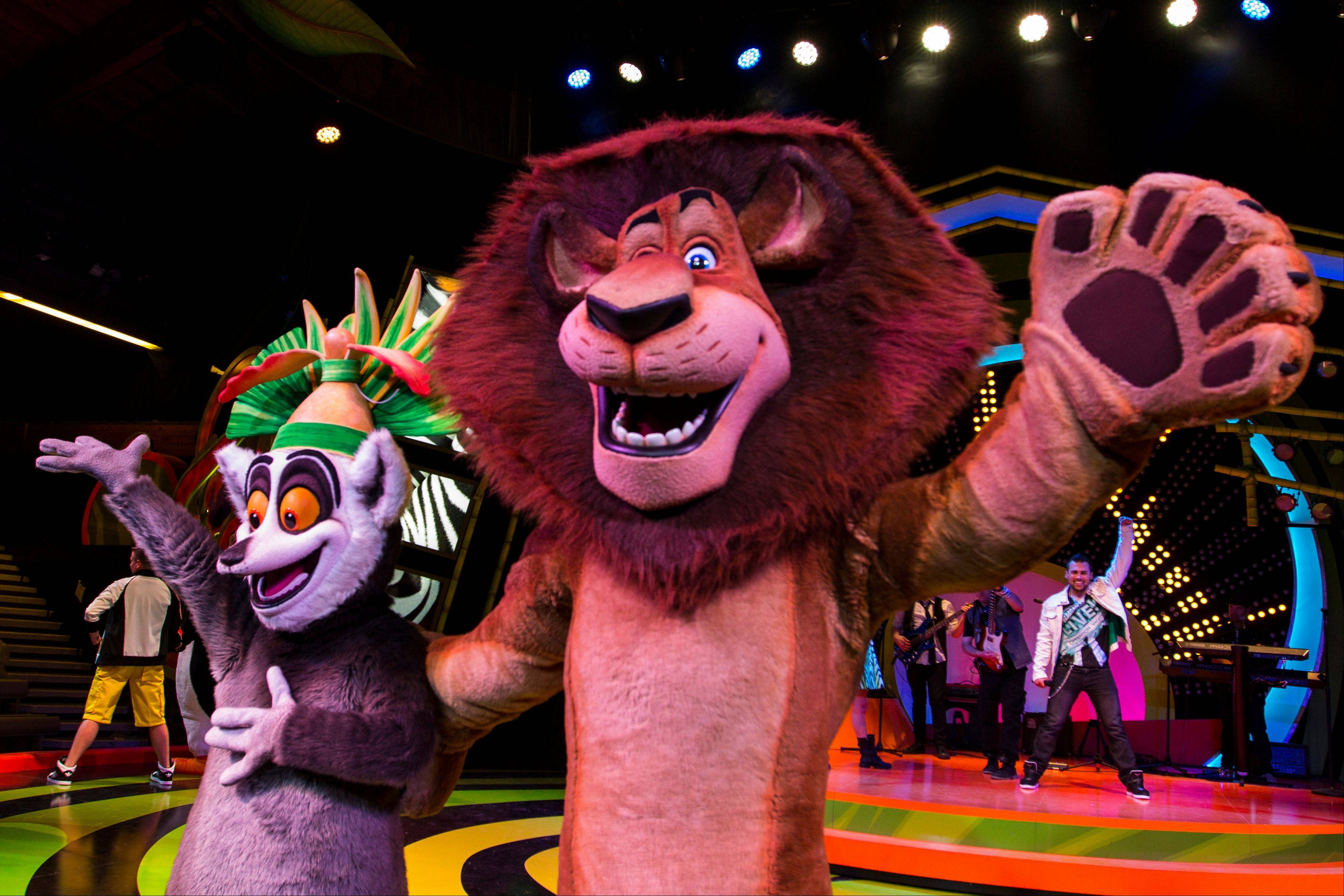 """Madagascar Live!"" is a new stage show at Busch Gardens Tampa."