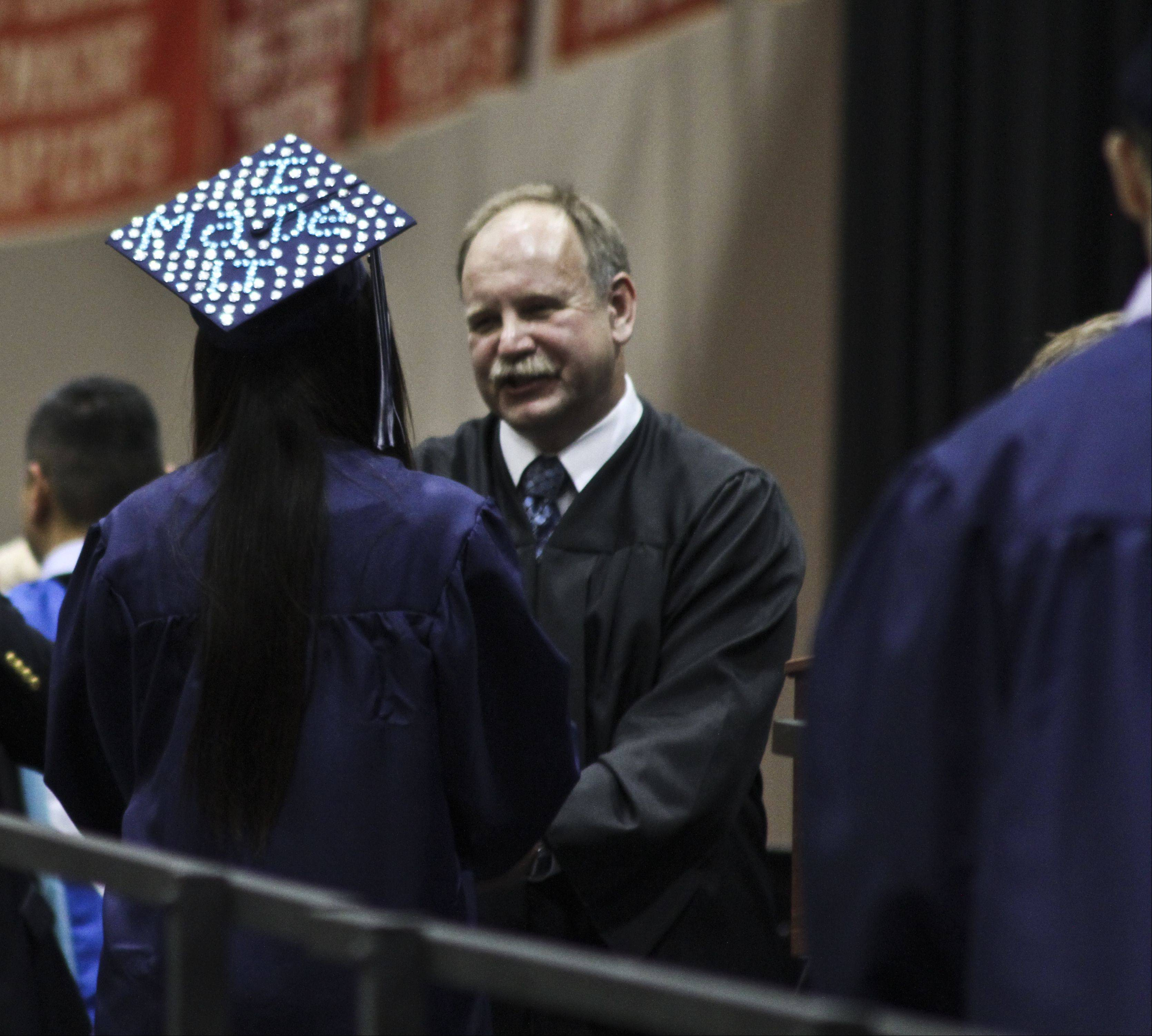 Images from the West Chicago High School graduation on Sunday, June 9 at North Central College in Naperville.