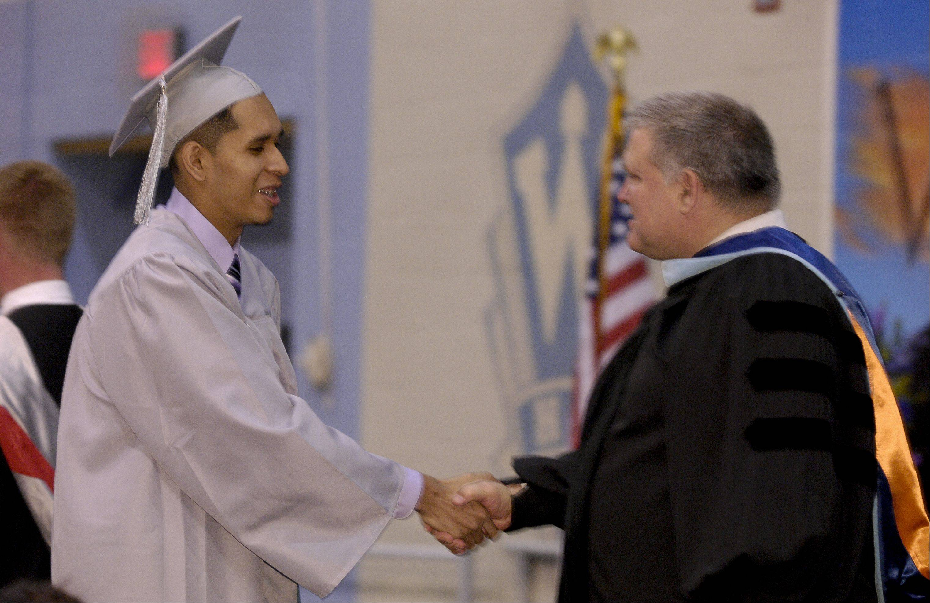 Images from the Willowbrook High School graduation on Sunday, June 9 at the school.