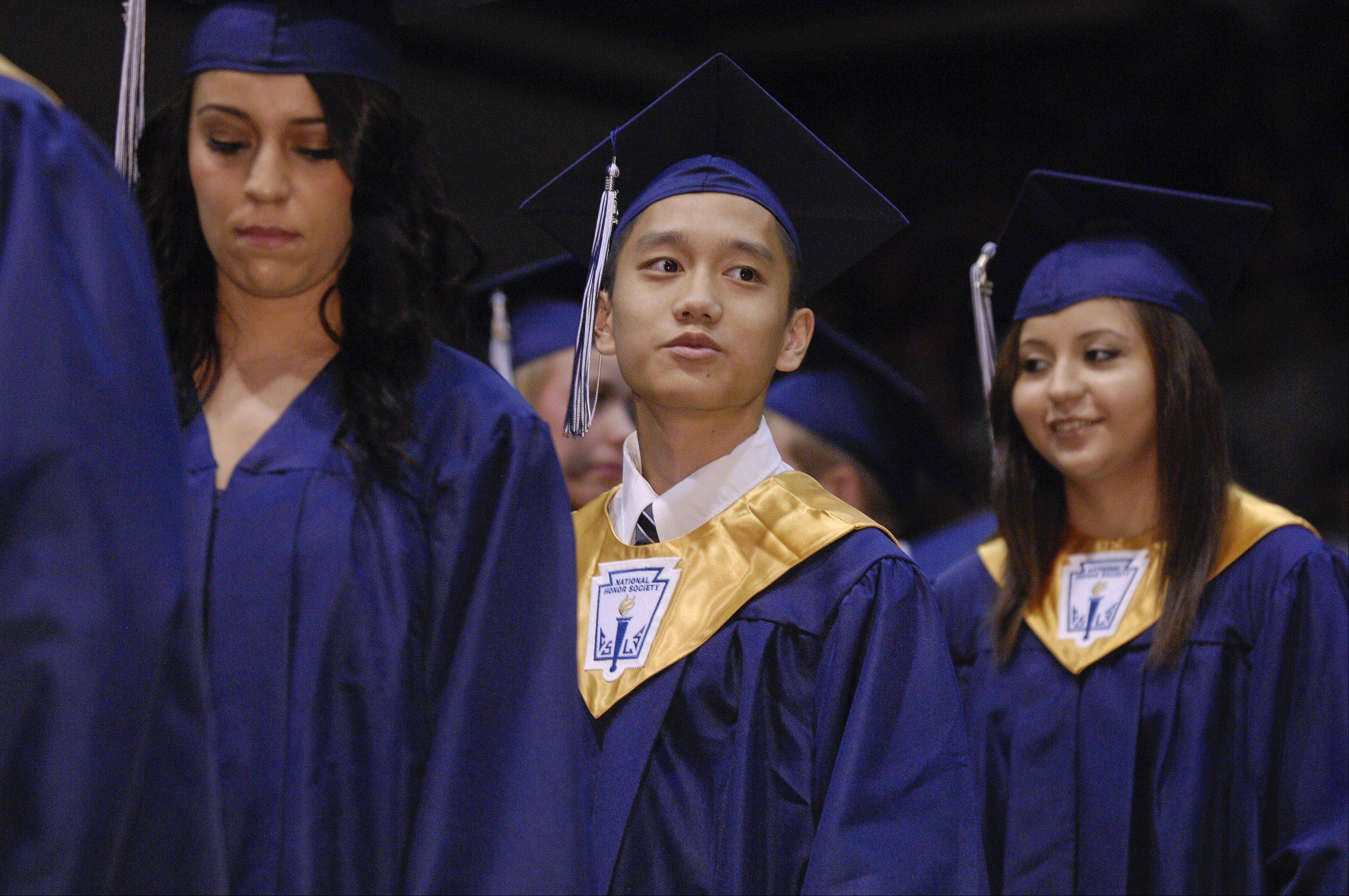 Images from the Addison Trail High School graduation on Sunday, June 9 at the school.