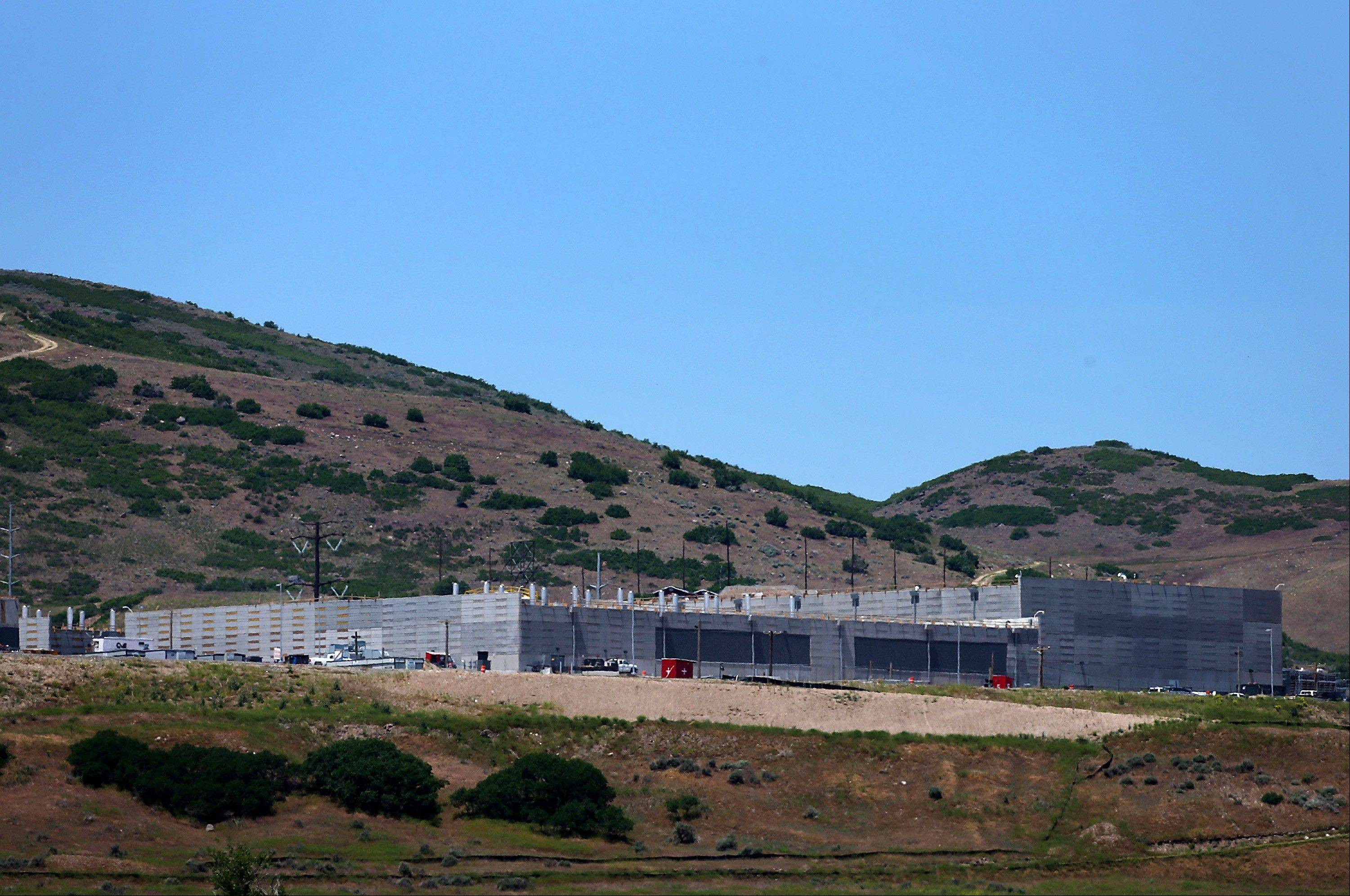 The National Security Agency (NSA) facility under construction in Bluffdale, Utah.