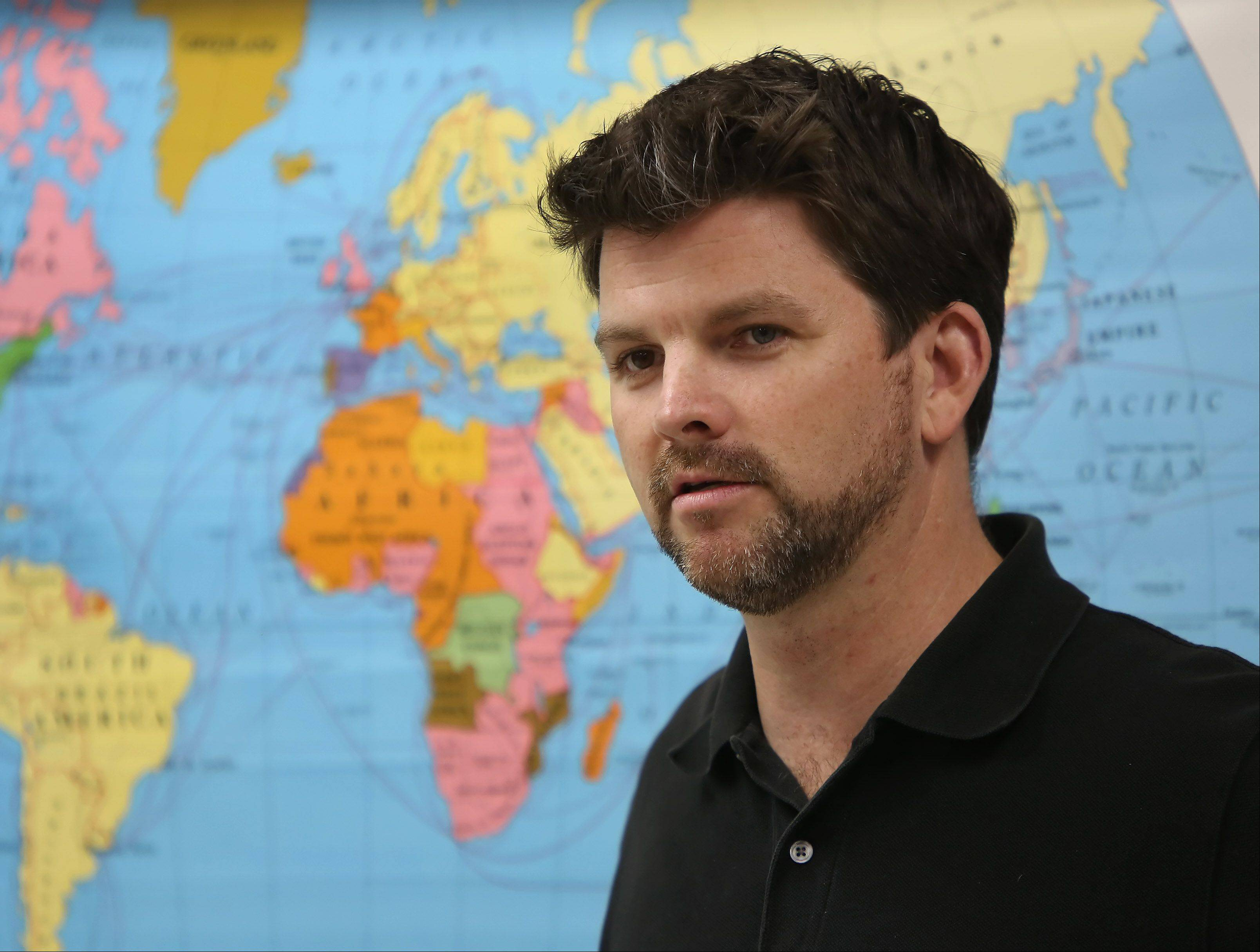 Mundelein High School teacher Neil McCarthy aims to make history relevant to today's students.