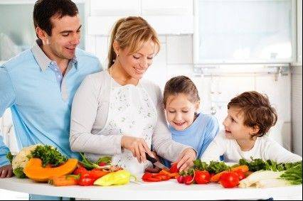 Teaching kids about healthy foods at a young age will stick with them into adulthood.