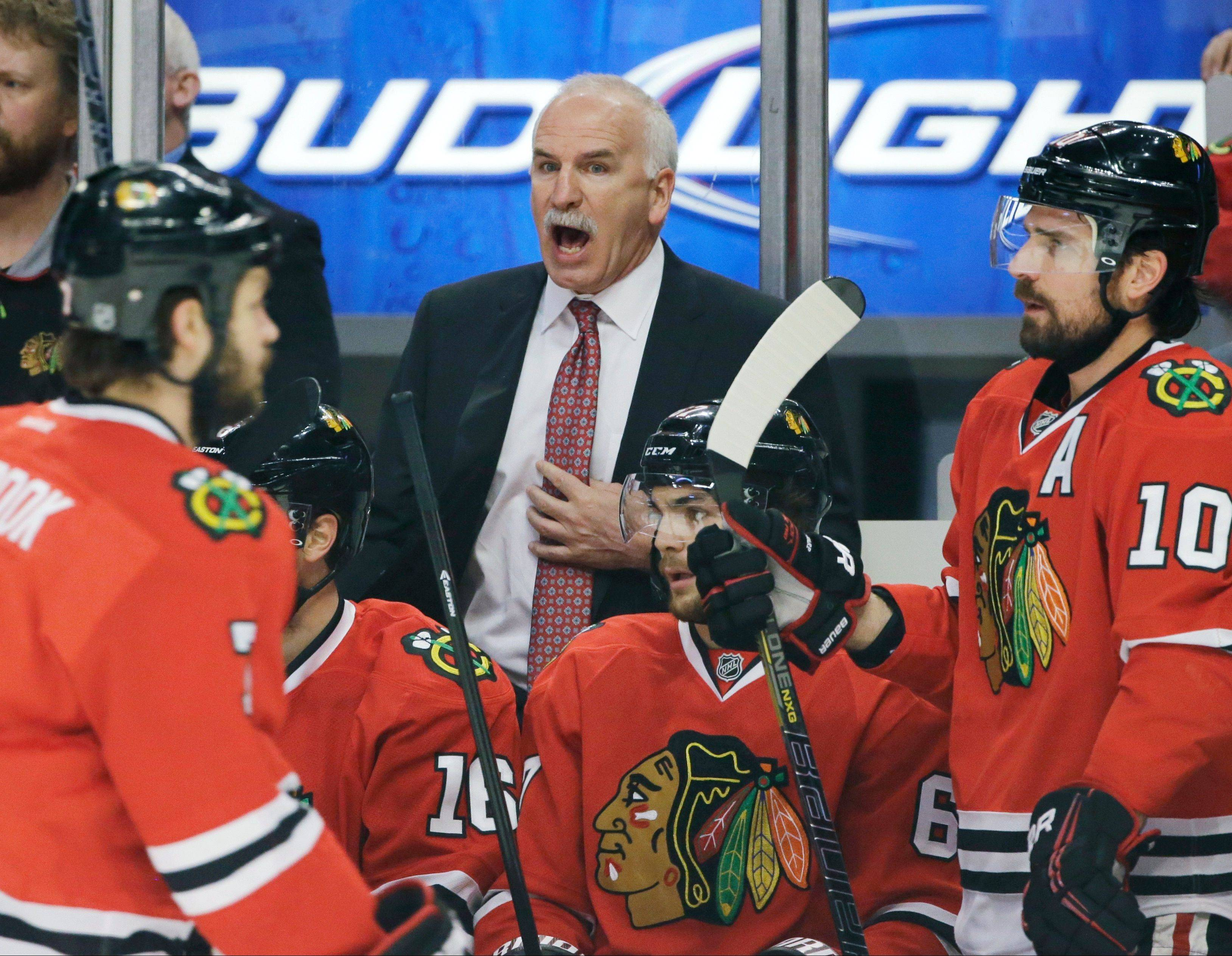 Joel Quenneville has a bit of Vince Lombardi in him, according to Daily Herald columnist Mike Imrem, showing the fortitude to make his players accountable in an era when that's hardly ever easy.