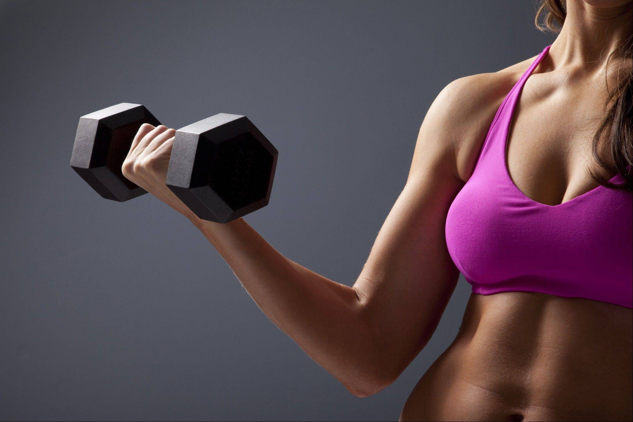 Woman do not have to worry about getting bulky if they lift weights.