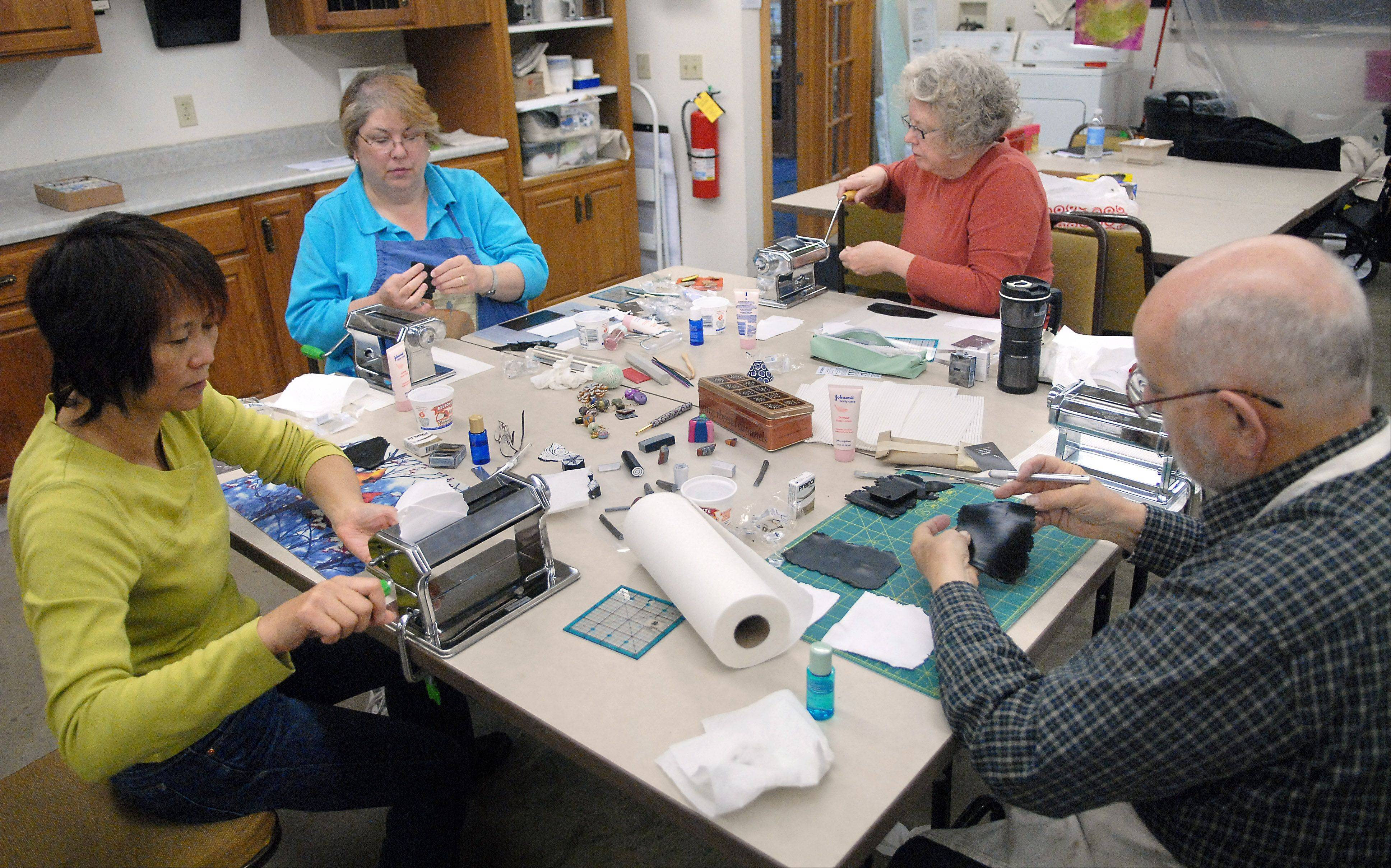 A variety of art classes are offered at the Fine Line Creative Arts Center in St. Charles.