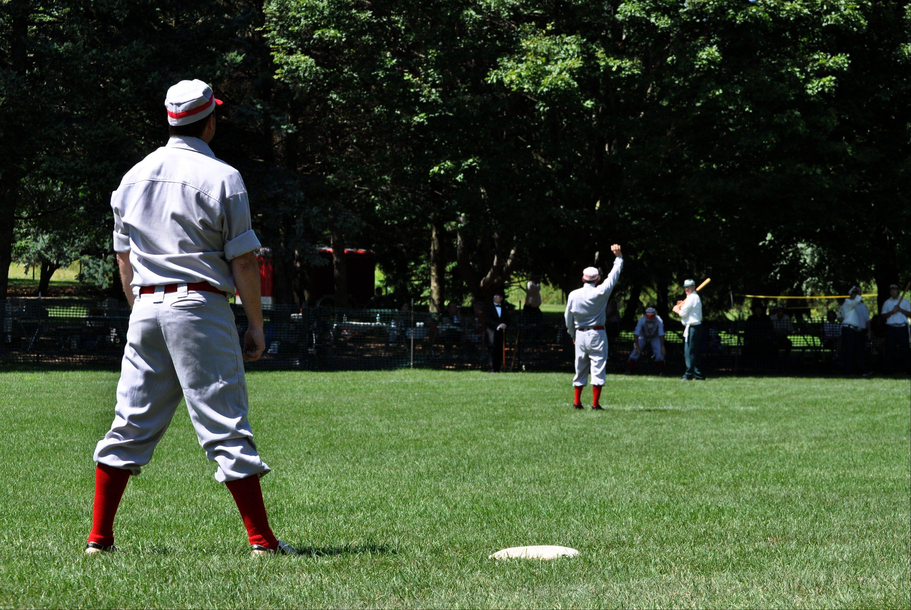 See what it's like to play baseball in proper 19th-century fashion with the McHenry County Historical Society.