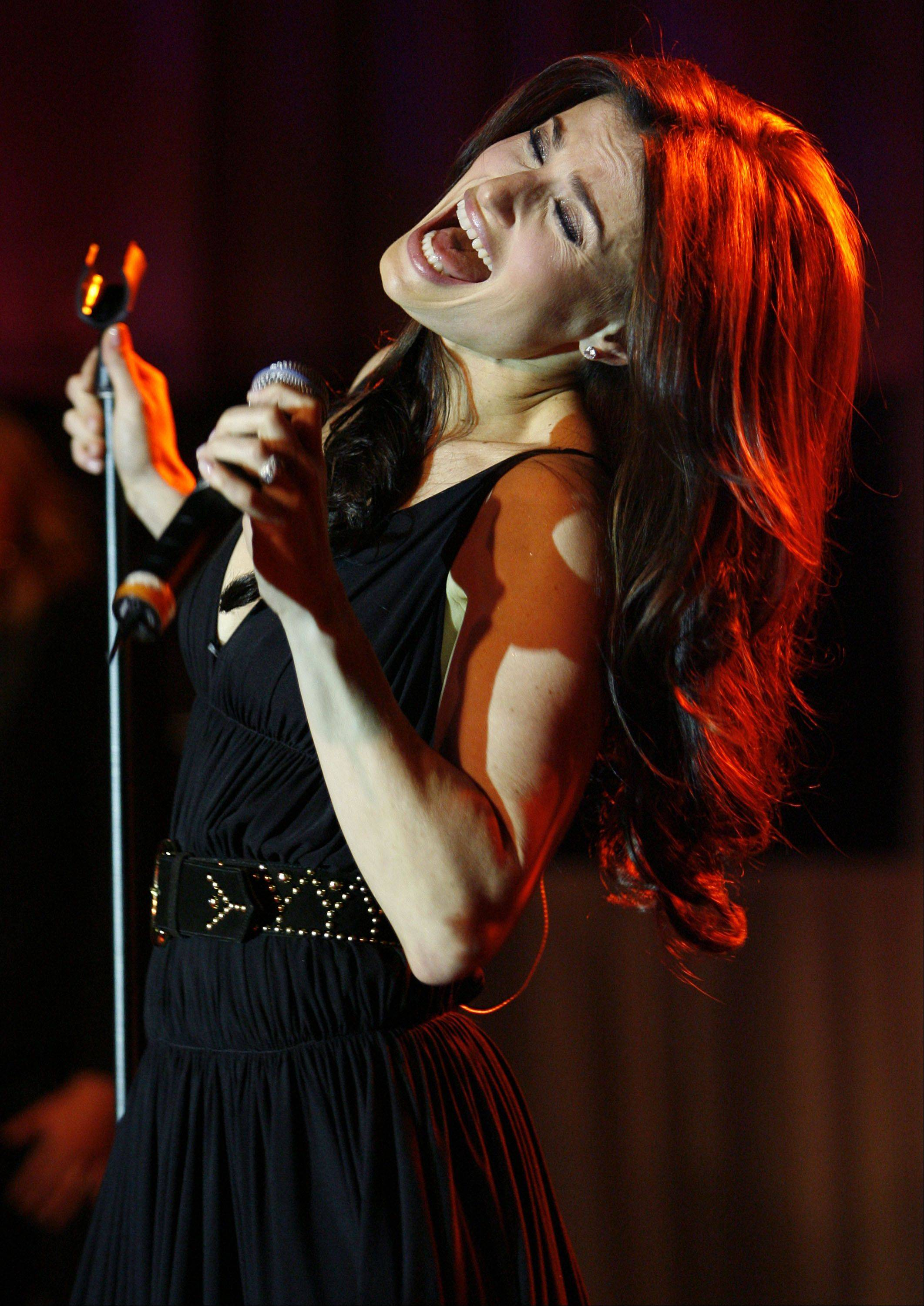 Singer Idina Menzel will perform July 19 at Aurora�s RiverEdge Park.
