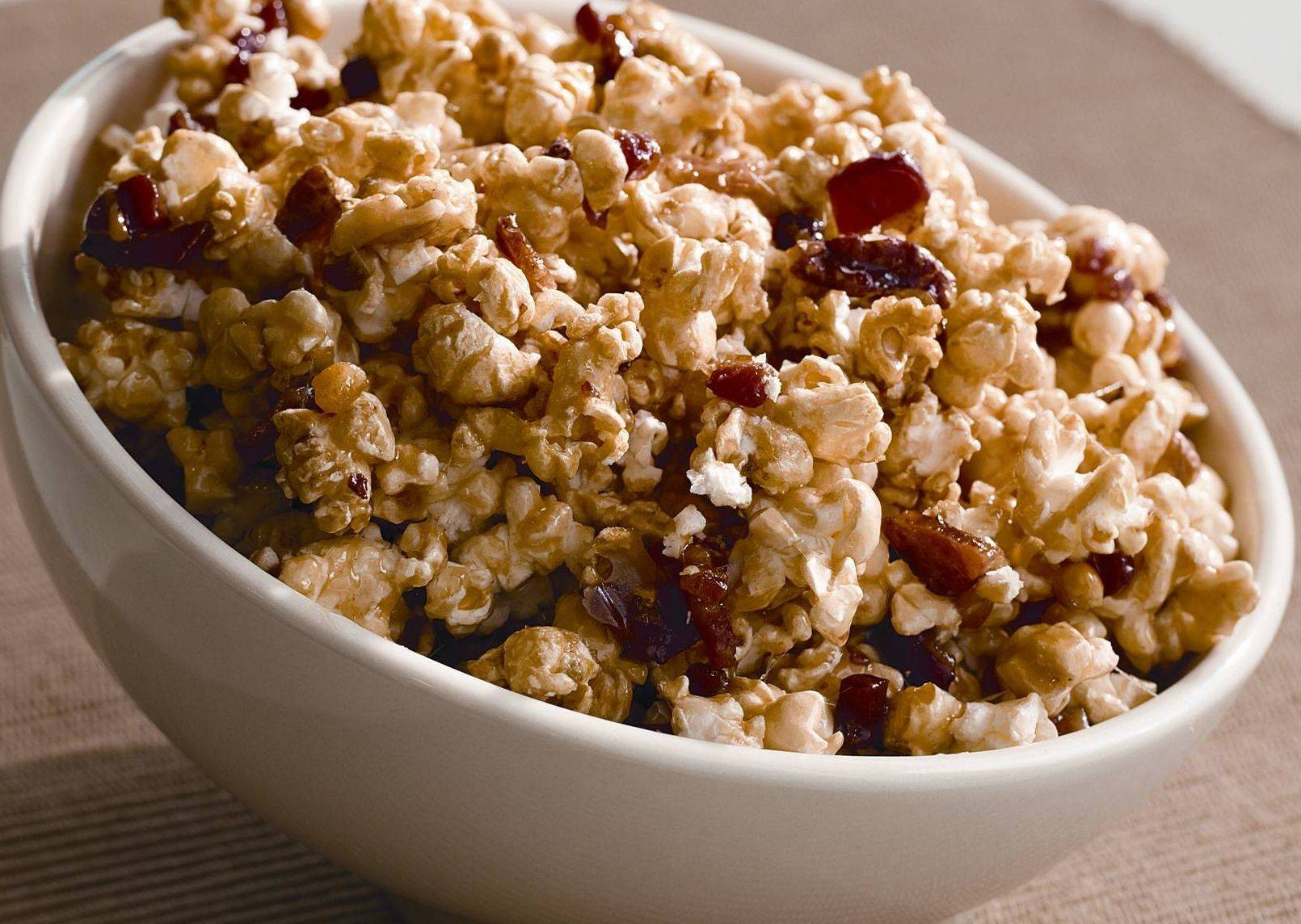 Domino Rosi, of Lombard, tweaked his mother's caramel corn recipe and won $1,000 in a Hungry Jack recipe contest.