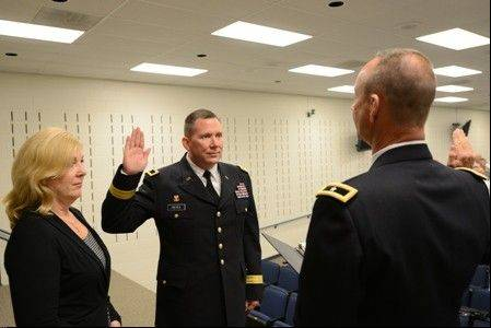 Richard J. Hayes was sworn in earlier this week as the second-in-command of the Illinois National Guard.