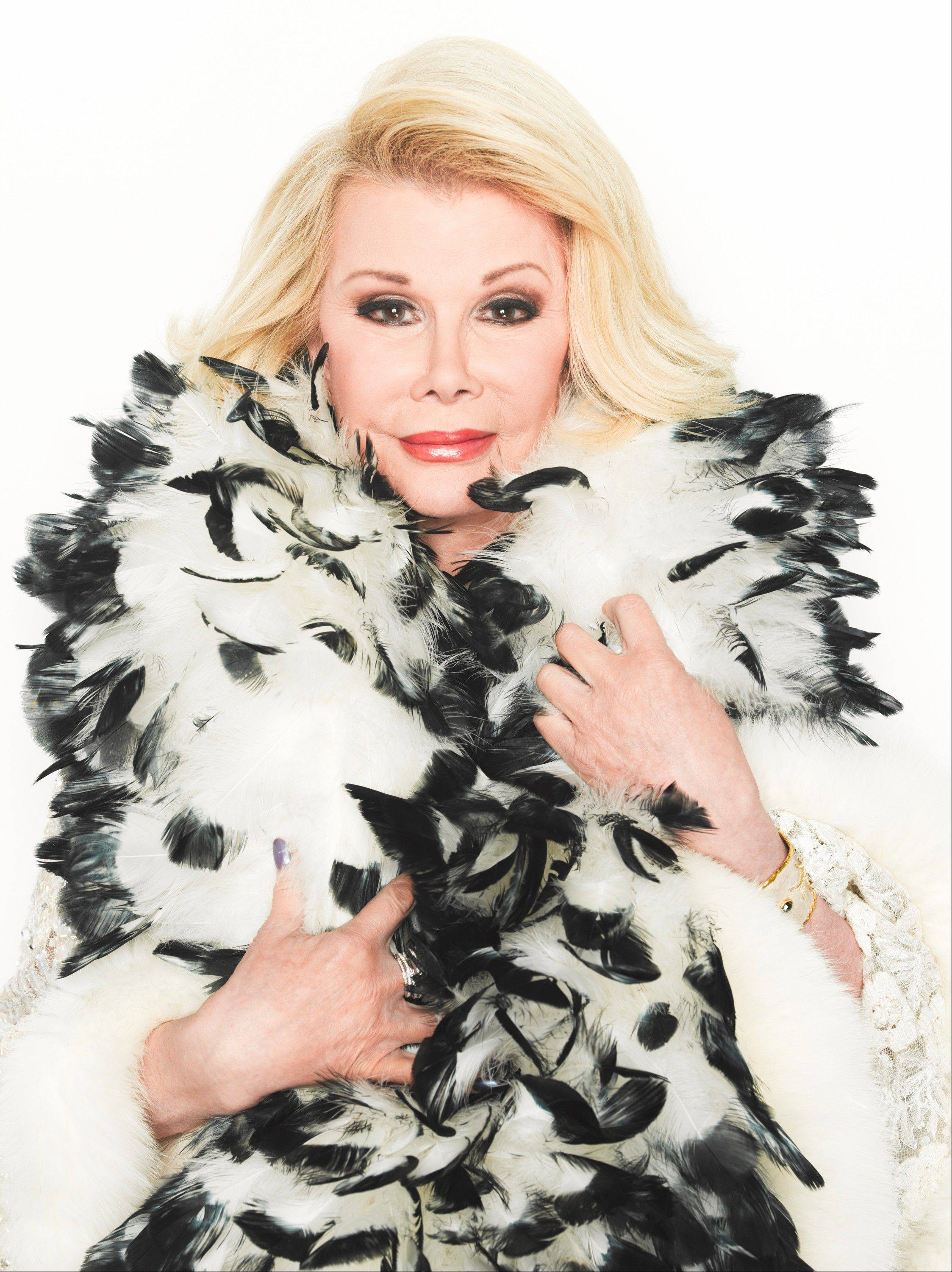 "Courtesy of E! E! marks Joan Rivers' 80th birthday with a special bash Friday on ""Fashion Police."""