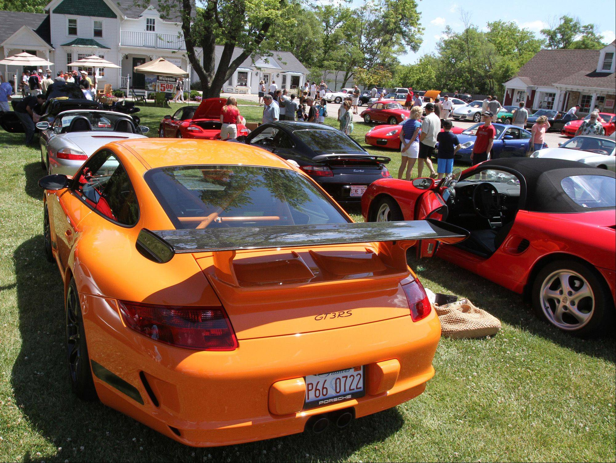The annual Porsche Club Concours returns to Long Grove Sunday.