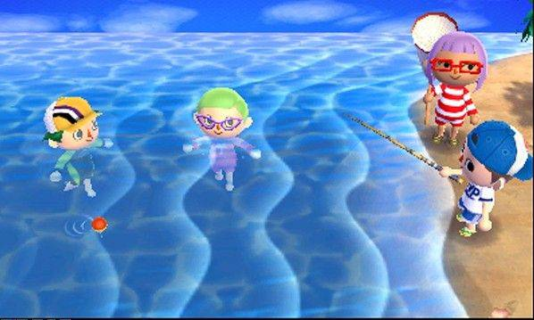 "Now your character can travel to a tropical island where he or she can compete against others in minigames like scavenger hunts or memory tests in ""Animal Crossing: New Leaf."""