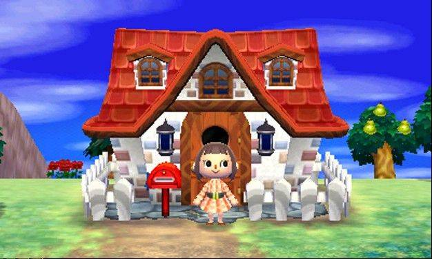 "Your character can visit other mayors' virtual towns in ""Animal Crossing: New Leaf."""