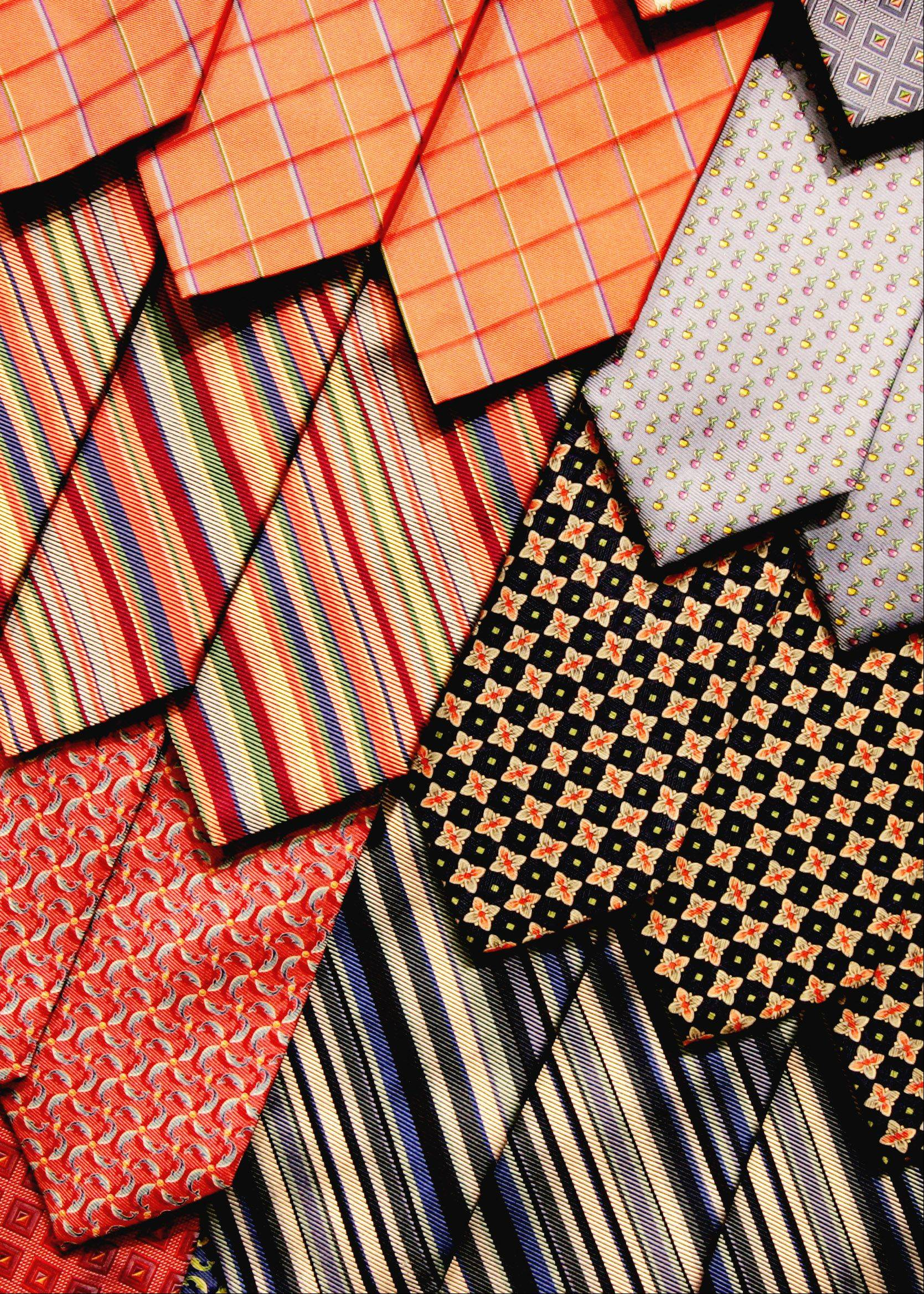 A necktie might be the fitting gift for a Father's Day holiday that always seems less important than Mother's Day.
