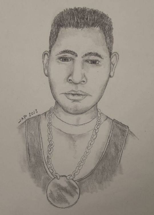 A police sketch of a man authorities say approached a 12-year-old girl in Rolling Meadows on Sunday and demanded she get in his car. The girl fled and was unharmed.