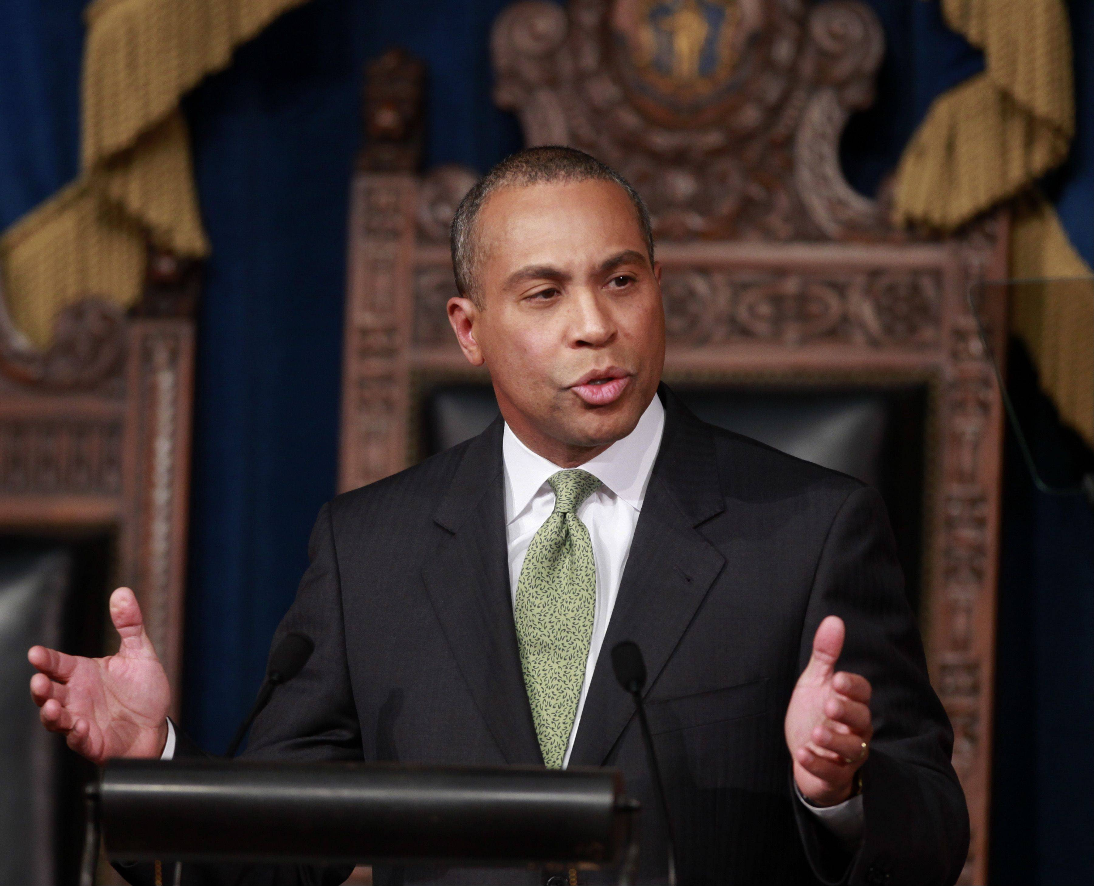 Massachusetts Gov. Deval Patrick)