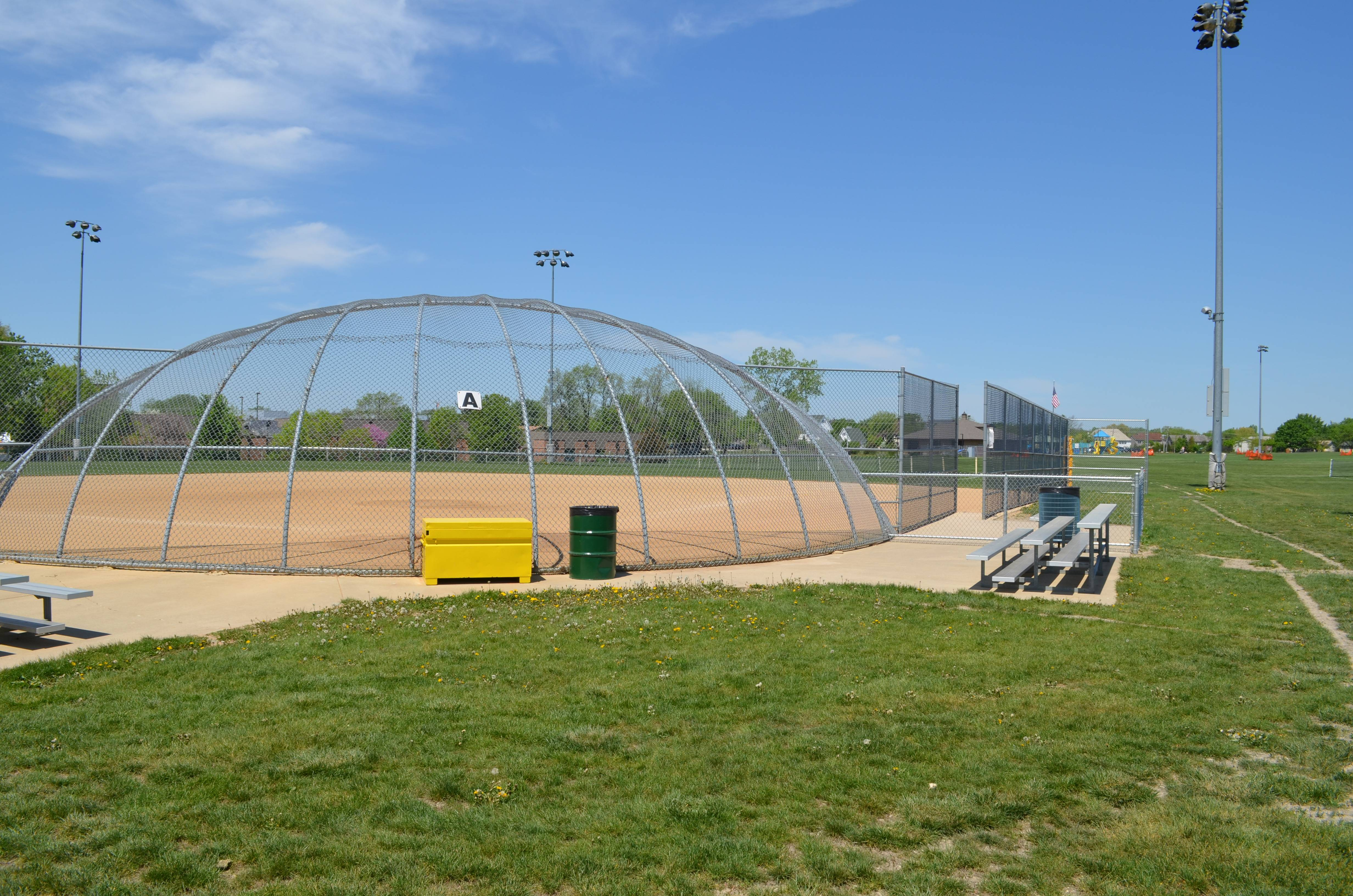Hamilton is home to the Ron Gbur Sports Fields.