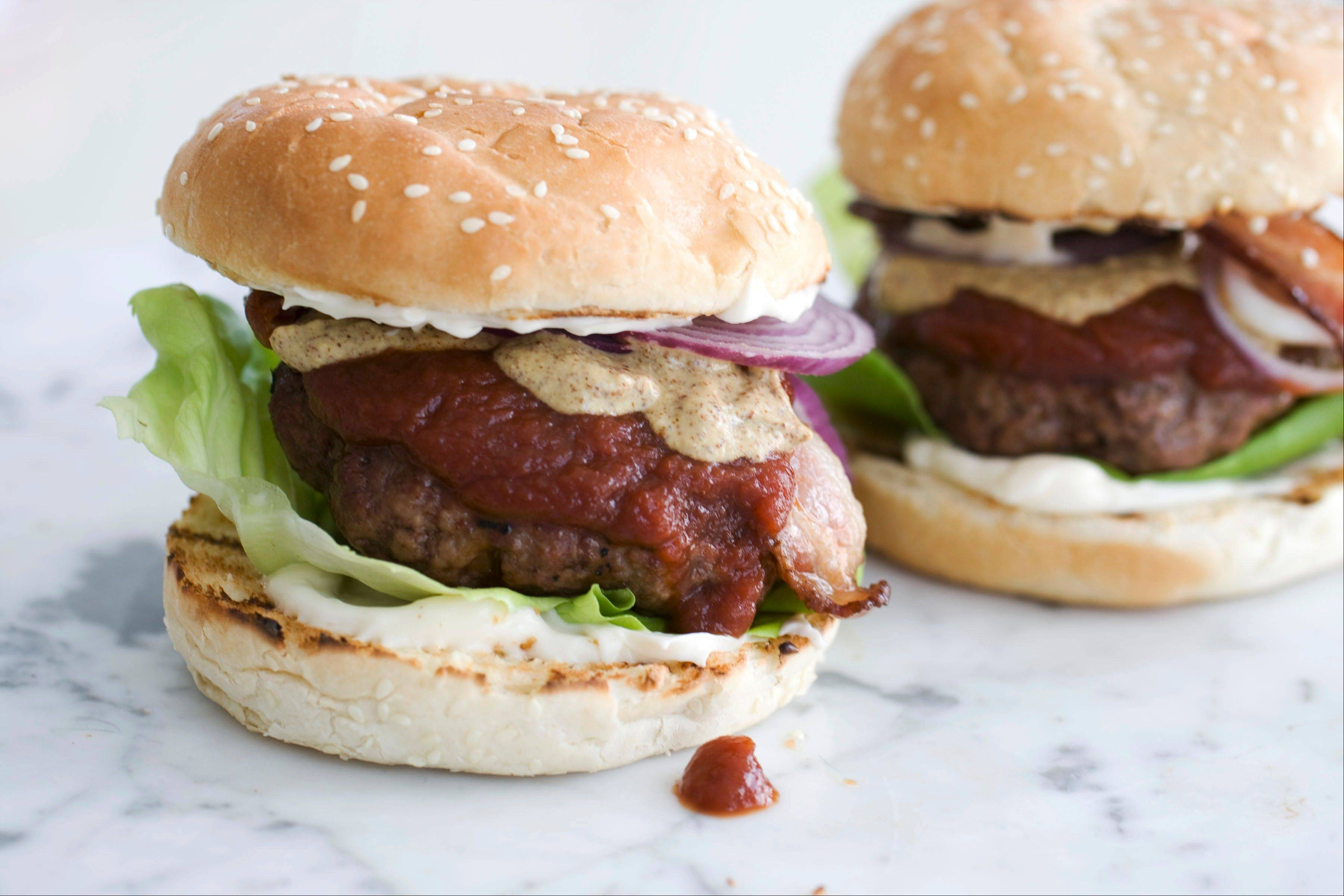Club House Burgers with Buttered Buns is sure to become a backyard favorite this summer.