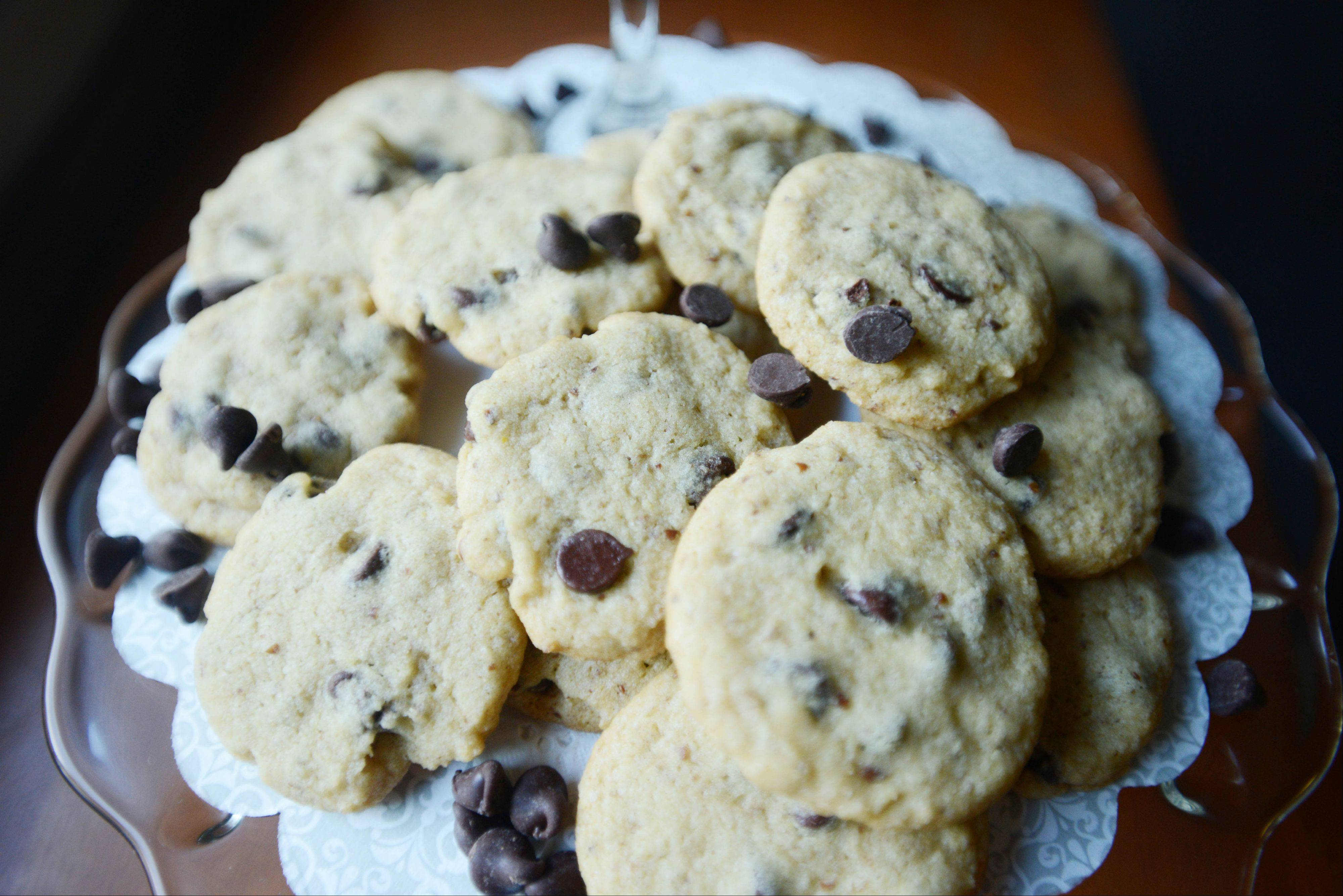 Hold the Gluten Chocolate Chip Cookies
